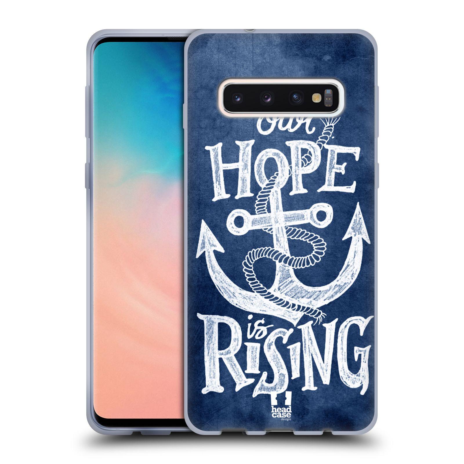Silikonové pouzdro na mobil Samsung Galaxy S10 - Head Case - KOTVA RISING