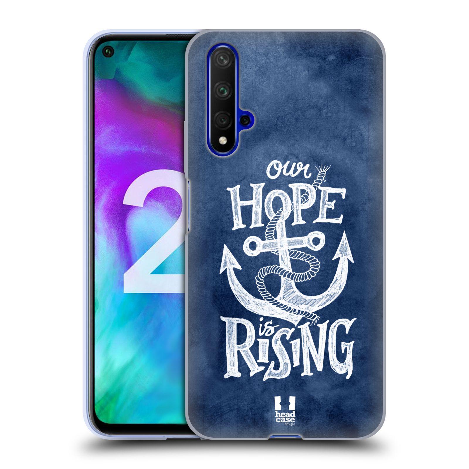 Silikonové pouzdro na mobil Honor 20 - Head Case - KOTVA RISING