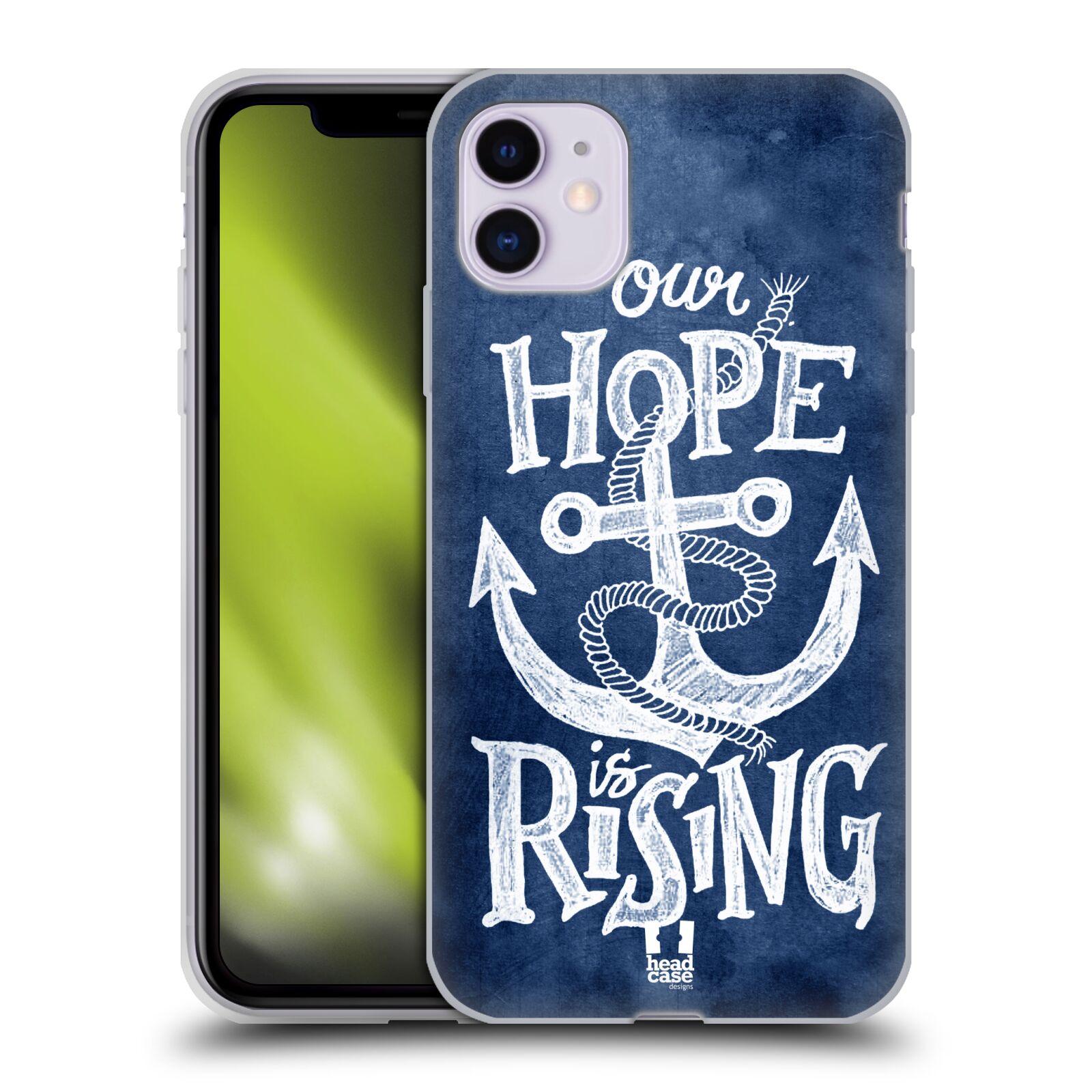 Silikonové pouzdro na mobil Apple iPhone 11 - Head Case - KOTVA RISING