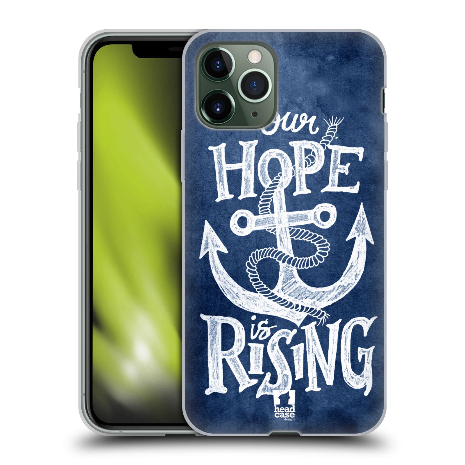 apple obal iphone 8 , Silikonové pouzdro na mobil Apple iPhone 11 Pro - Head Case - KOTVA RISING