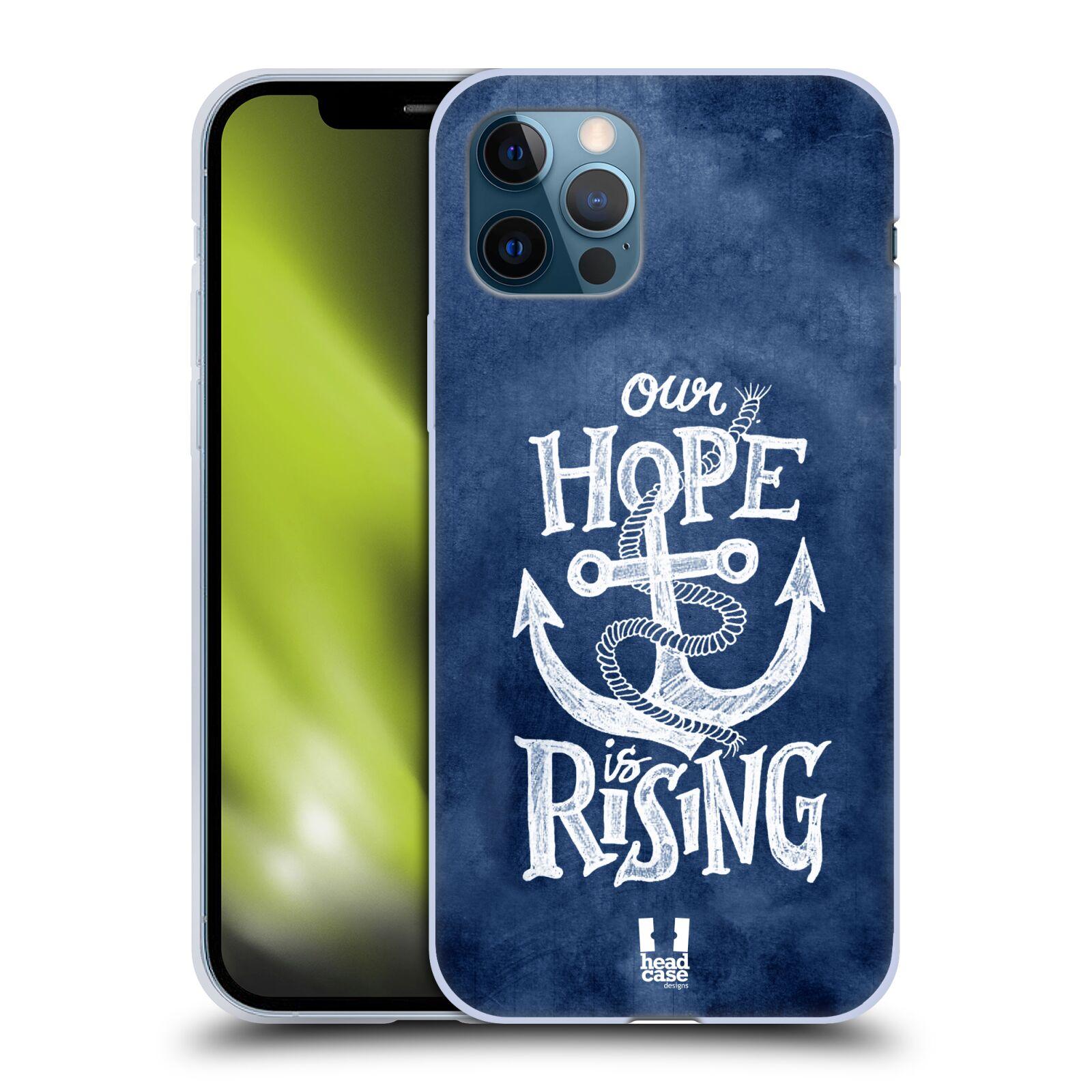 Silikonové pouzdro na mobil Apple iPhone 12 / 12 Pro - Head Case - KOTVA RISING