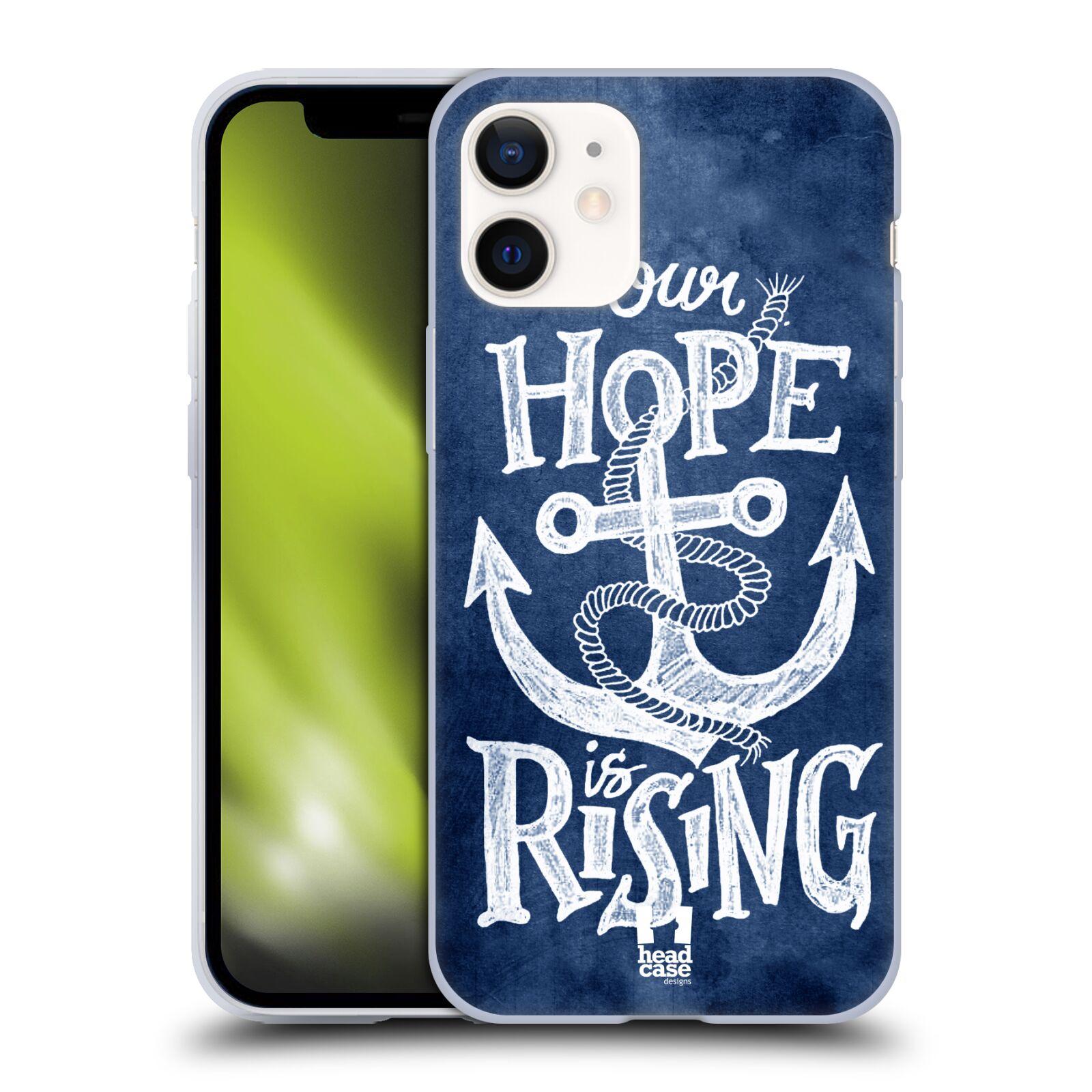 Silikonové pouzdro na mobil Apple iPhone 12 Mini - Head Case - KOTVA RISING