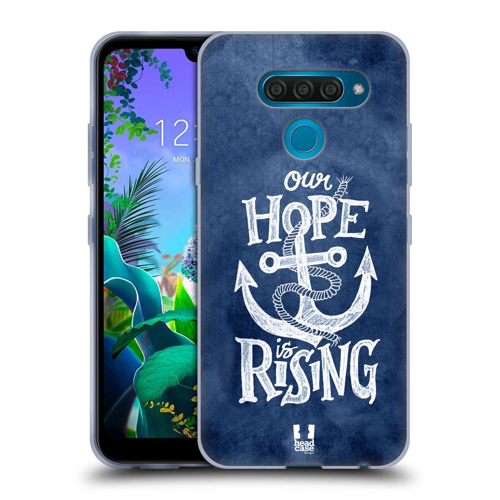 Silikonové pouzdro na mobil LG Q60 - Head Case - KOTVA RISING