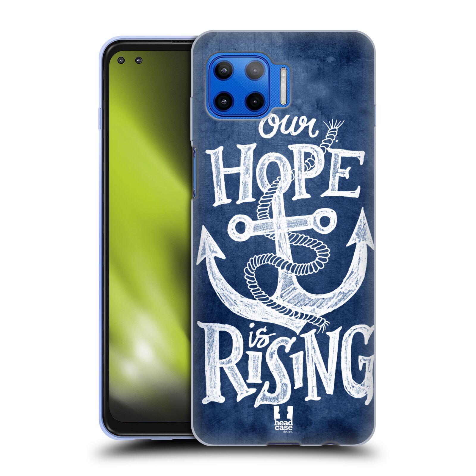 Silikonové pouzdro na mobil Motorola Moto G 5G Plus - Head Case - KOTVA RISING