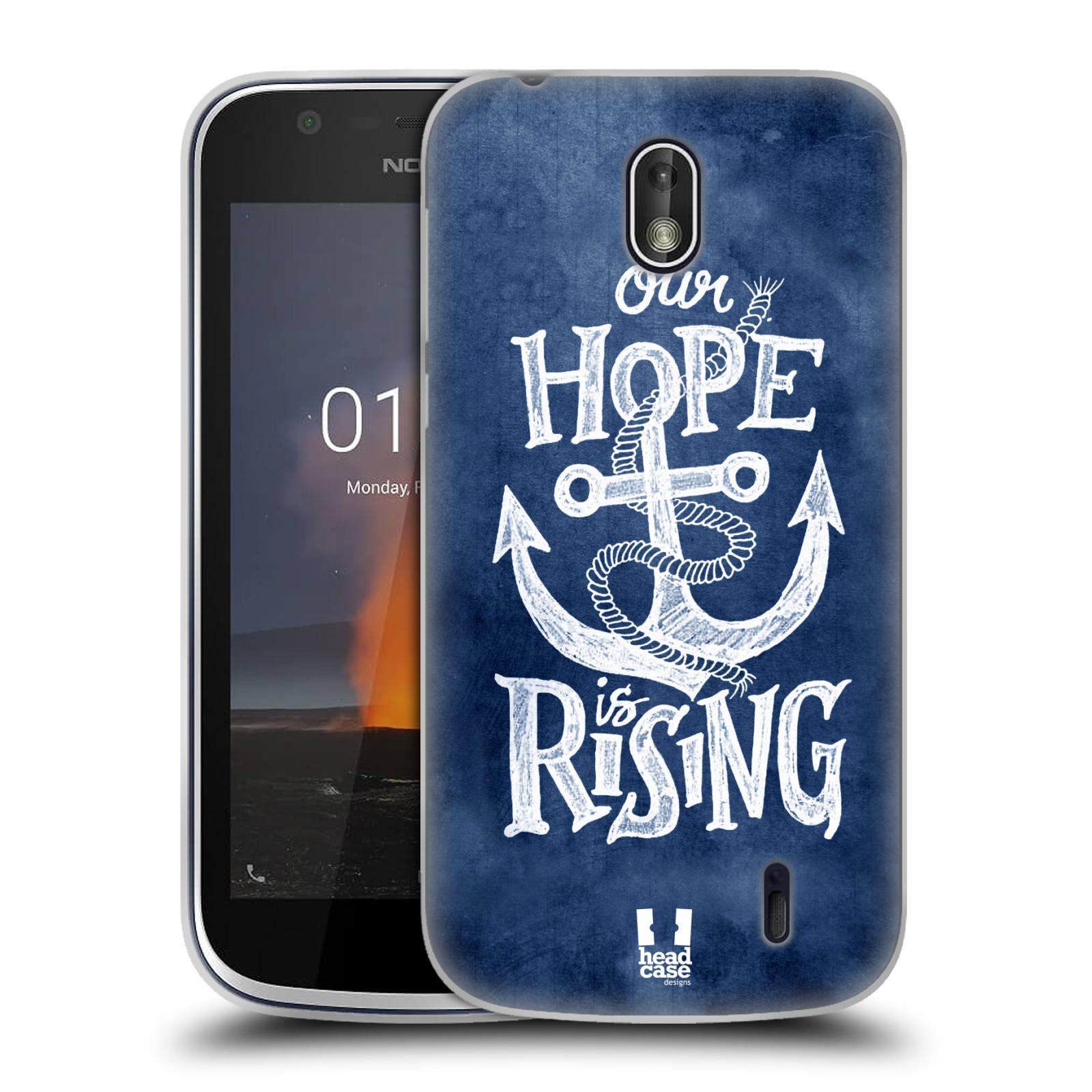 Silikonové pouzdro na mobil Nokia 1 - Head Case - KOTVA RISING