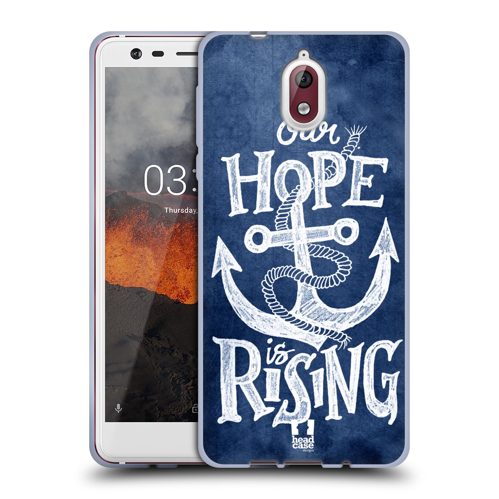 Silikonové pouzdro na mobil Nokia 3.1 - Head Case - KOTVA RISING