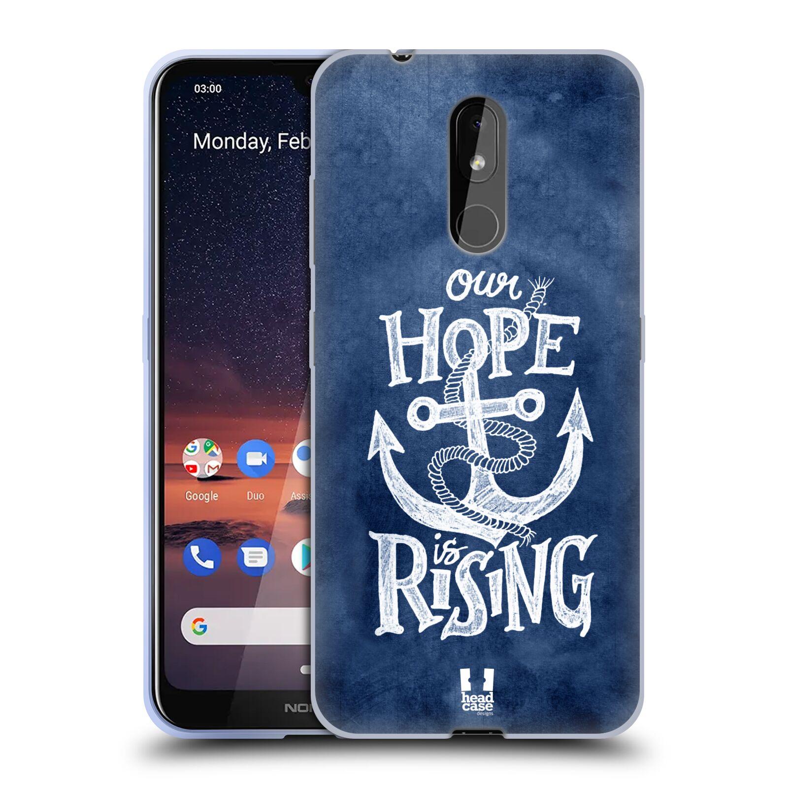 Silikonové pouzdro na mobil Nokia 3.2 - Head Case - KOTVA RISING