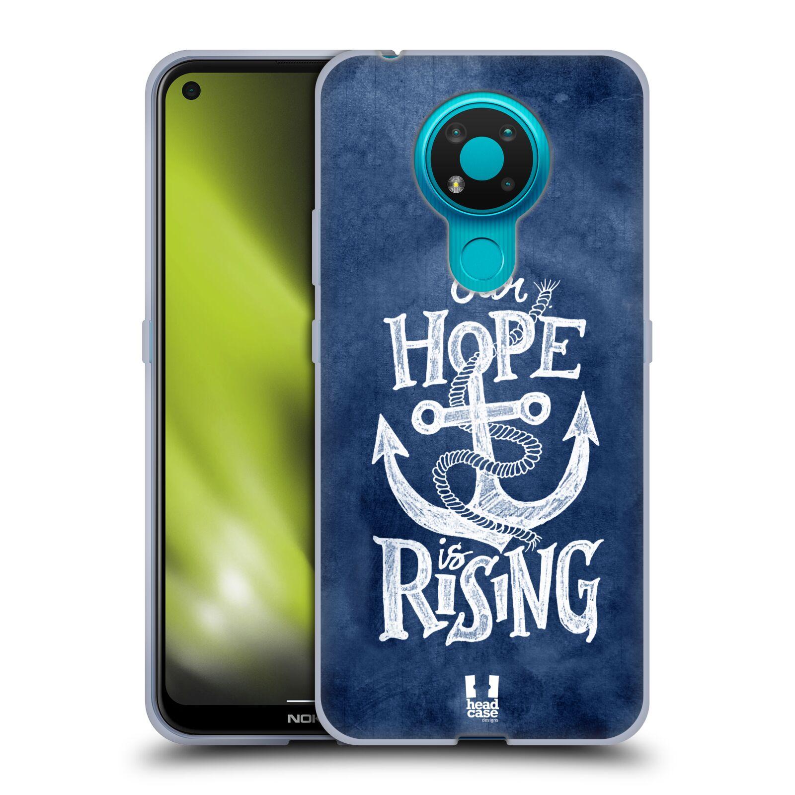 Silikonové pouzdro na mobil Nokia 3.4 - Head Case - KOTVA RISING