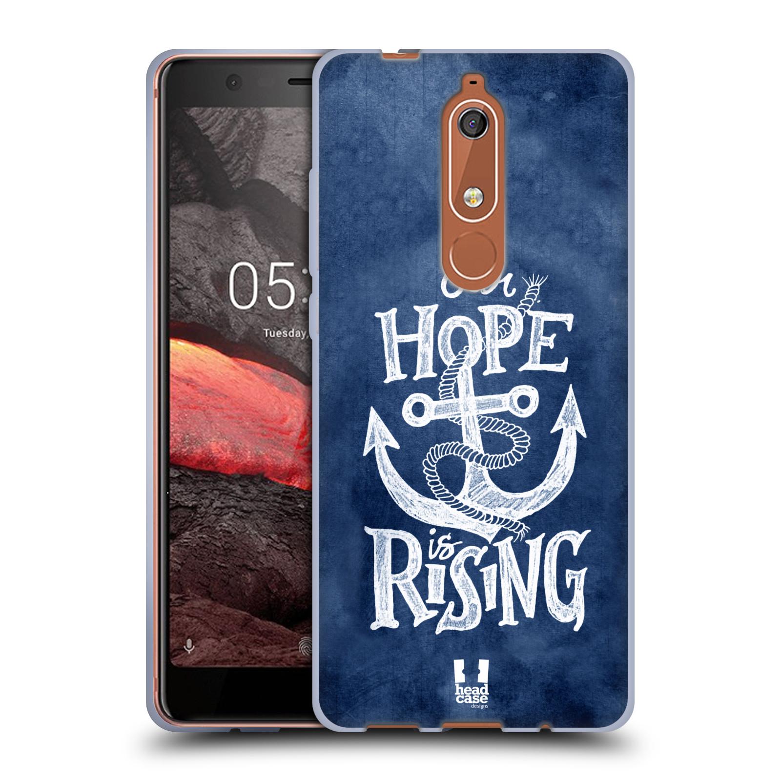 Silikonové pouzdro na mobil Nokia 5.1 - Head Case - KOTVA RISING