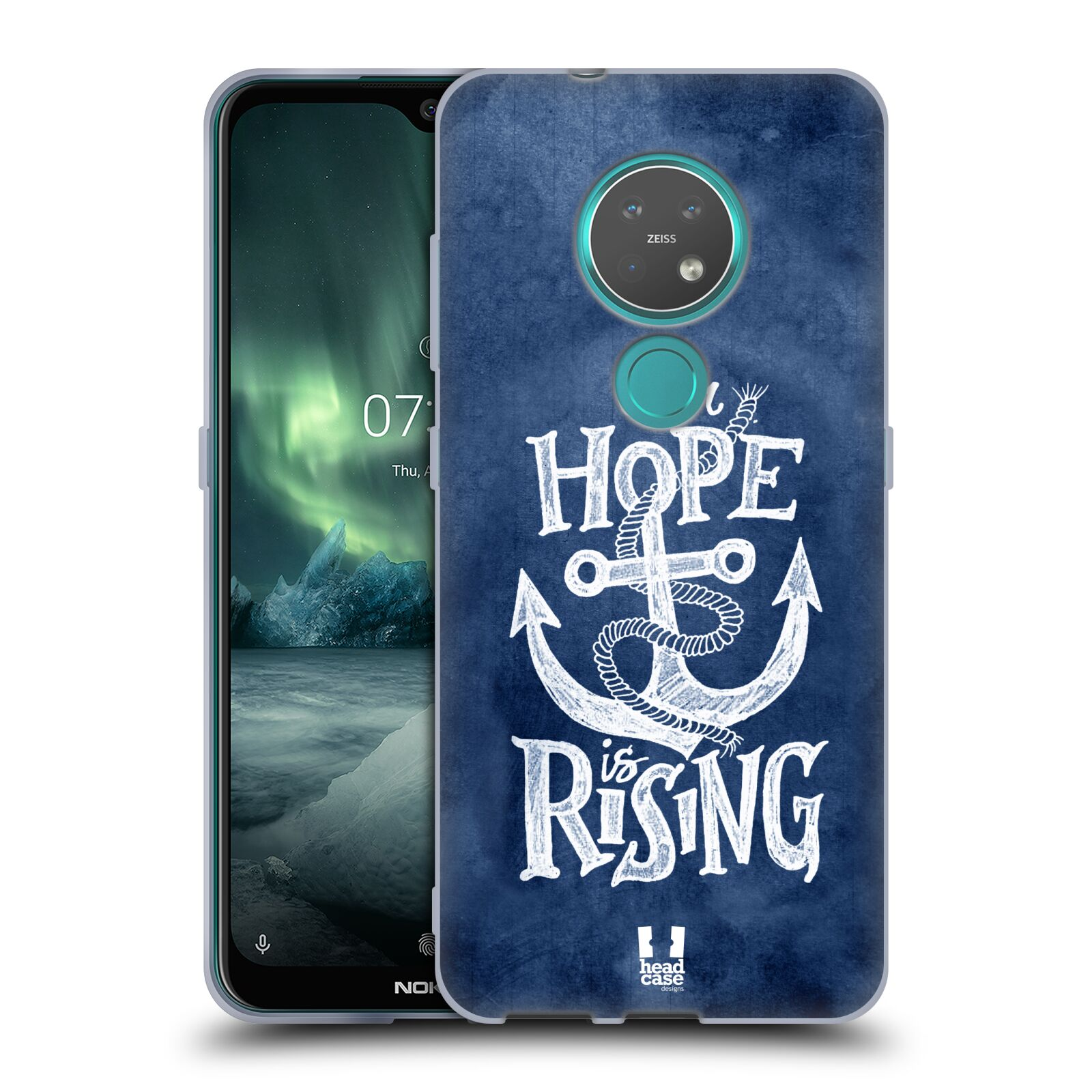 Silikonové pouzdro na mobil Nokia 7.2 - Head Case - KOTVA RISING