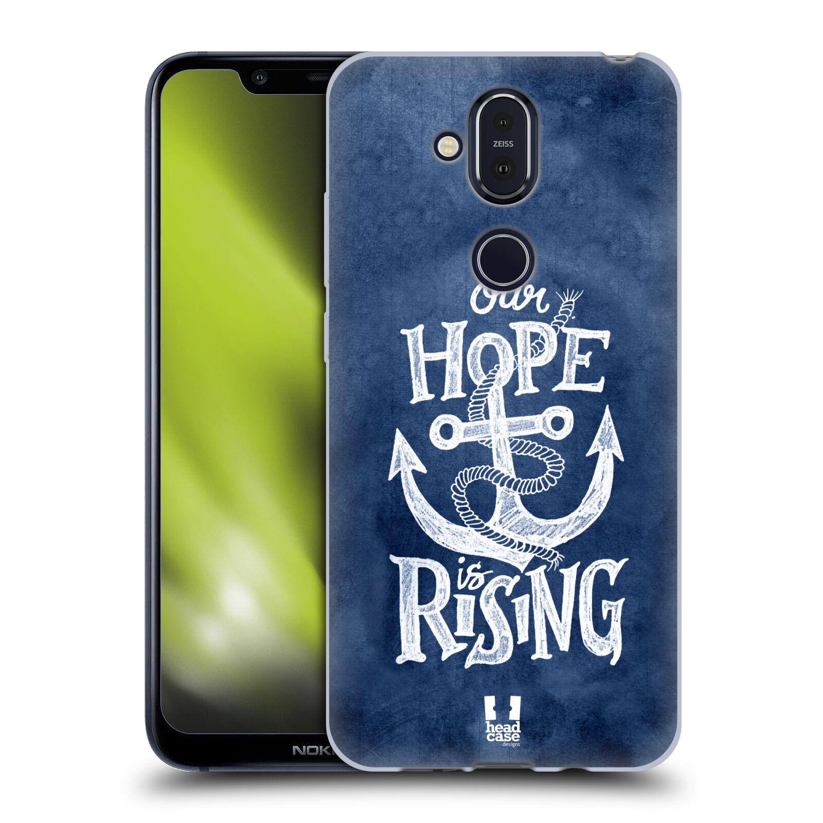 Silikonové pouzdro na mobil Nokia 8.1 - Head Case - KOTVA RISING