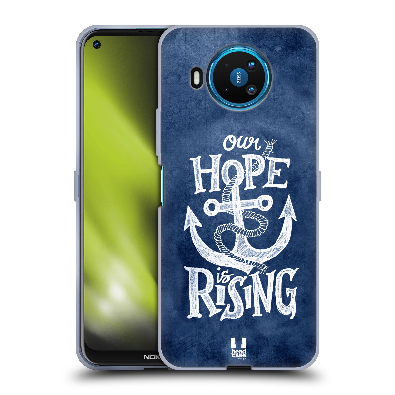 Silikonové pouzdro na mobil Nokia 8.3 5G - Head Case - KOTVA RISING