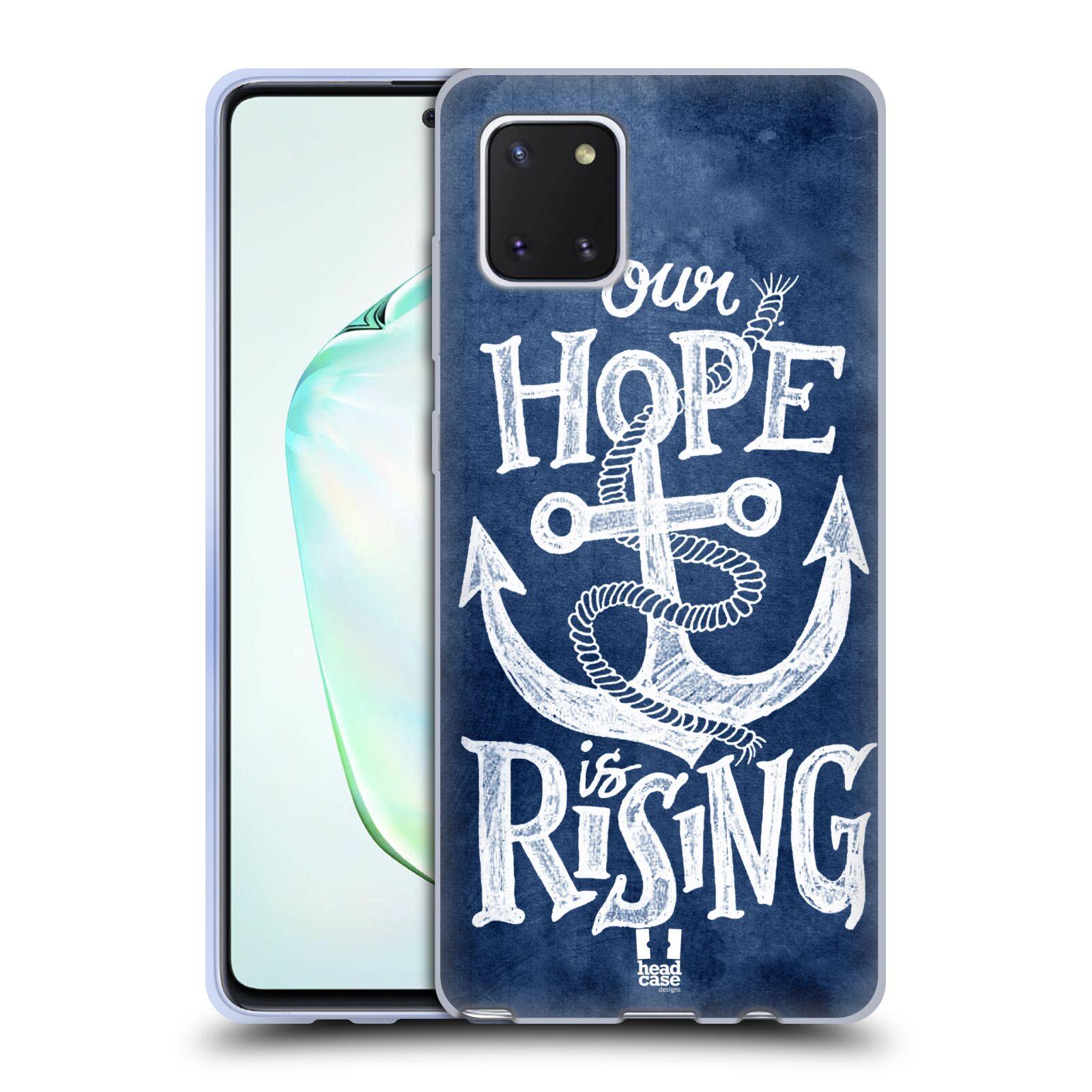 Silikonové pouzdro na mobil Samsung Galaxy Note 10 Lite - Head Case - KOTVA RISING