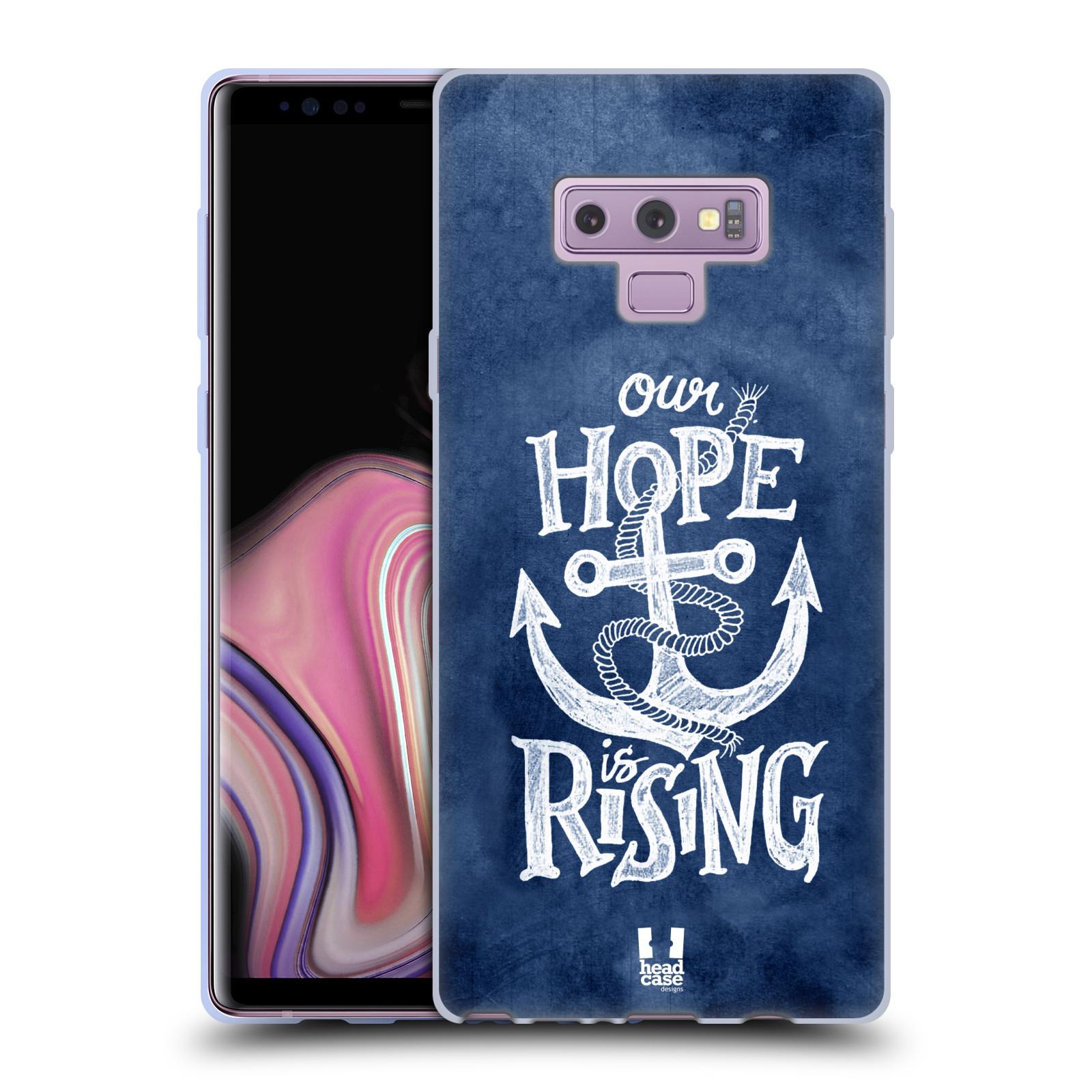 Silikonové pouzdro na mobil Samsung Galaxy Note 9 - Head Case - KOTVA RISING