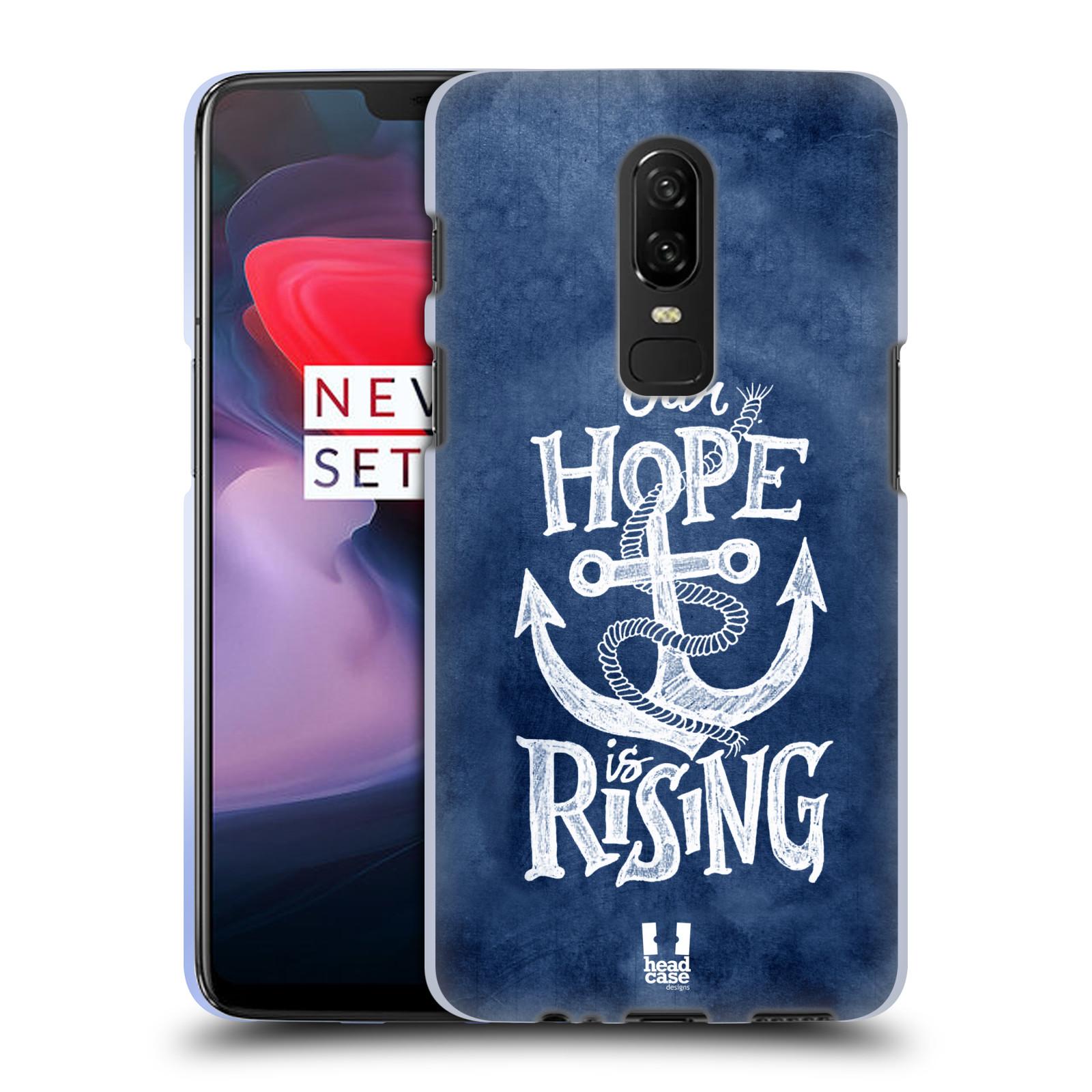 Silikonové pouzdro na mobil OnePlus 6 - Head Case - KOTVA RISING