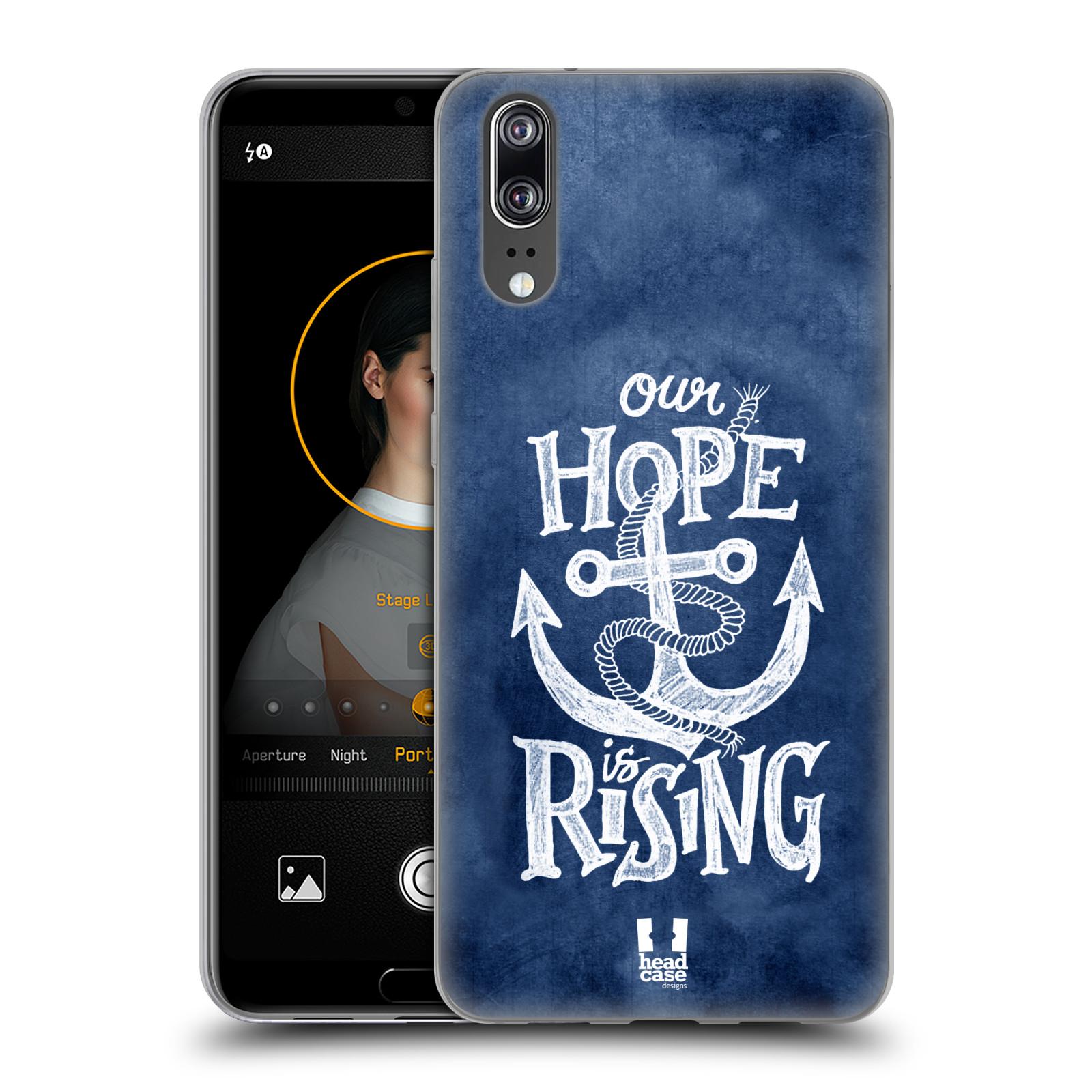 Silikonové pouzdro na mobil Huawei P20 - Head Case - KOTVA RISING