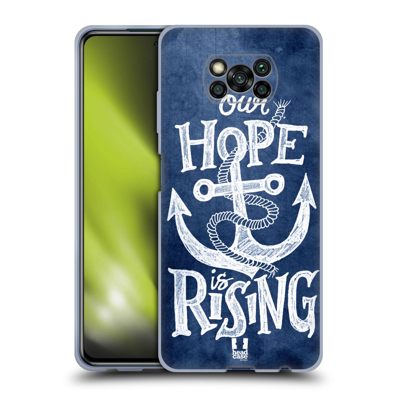 Silikonové pouzdro na mobil Xiaomi Poco X3 NFC - Head Case - KOTVA RISING
