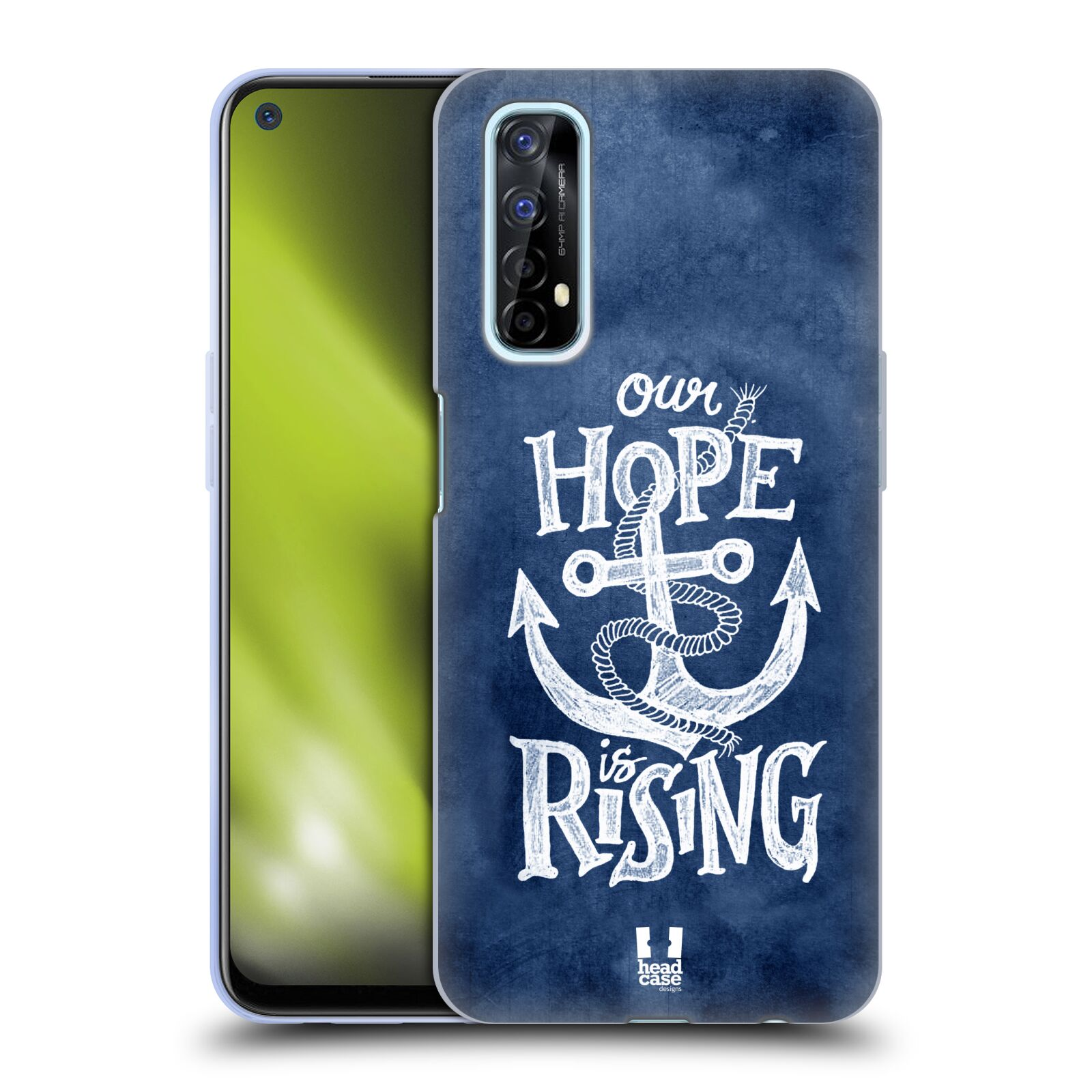 Silikonové pouzdro na mobil Realme 7 - Head Case - KOTVA RISING
