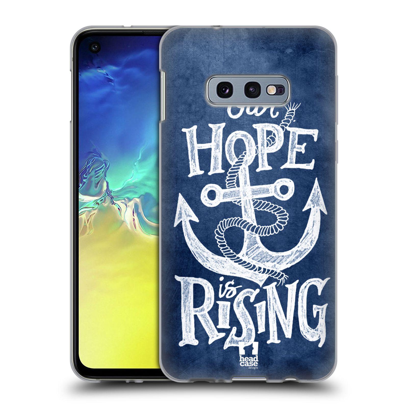 Silikonové pouzdro na mobil Samsung Galaxy S10e - Head Case - KOTVA RISING