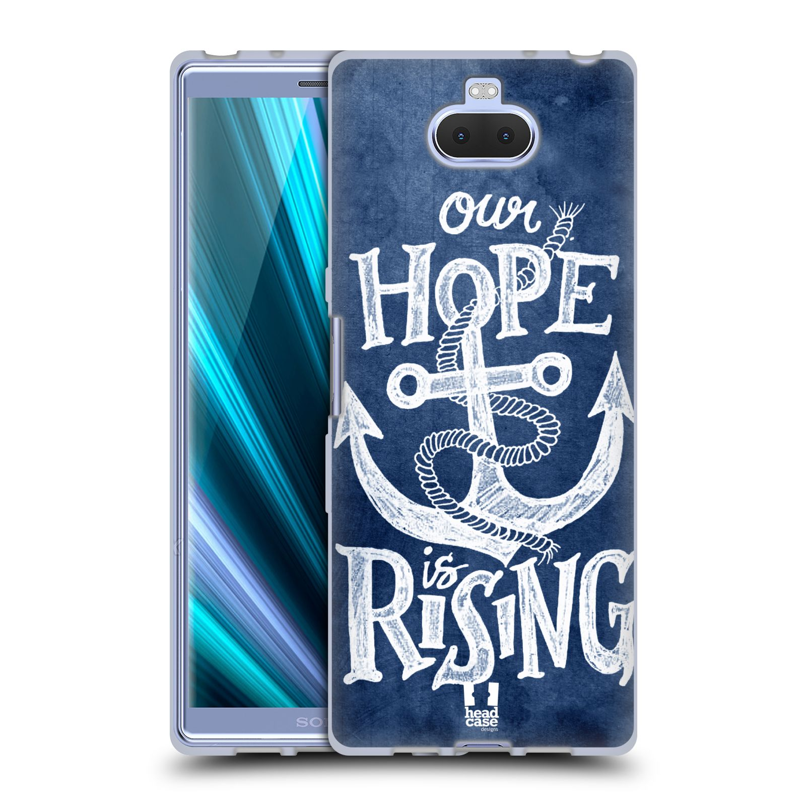 Silikonové pouzdro na mobil Sony Xperia 10 - Head Case - KOTVA RISING