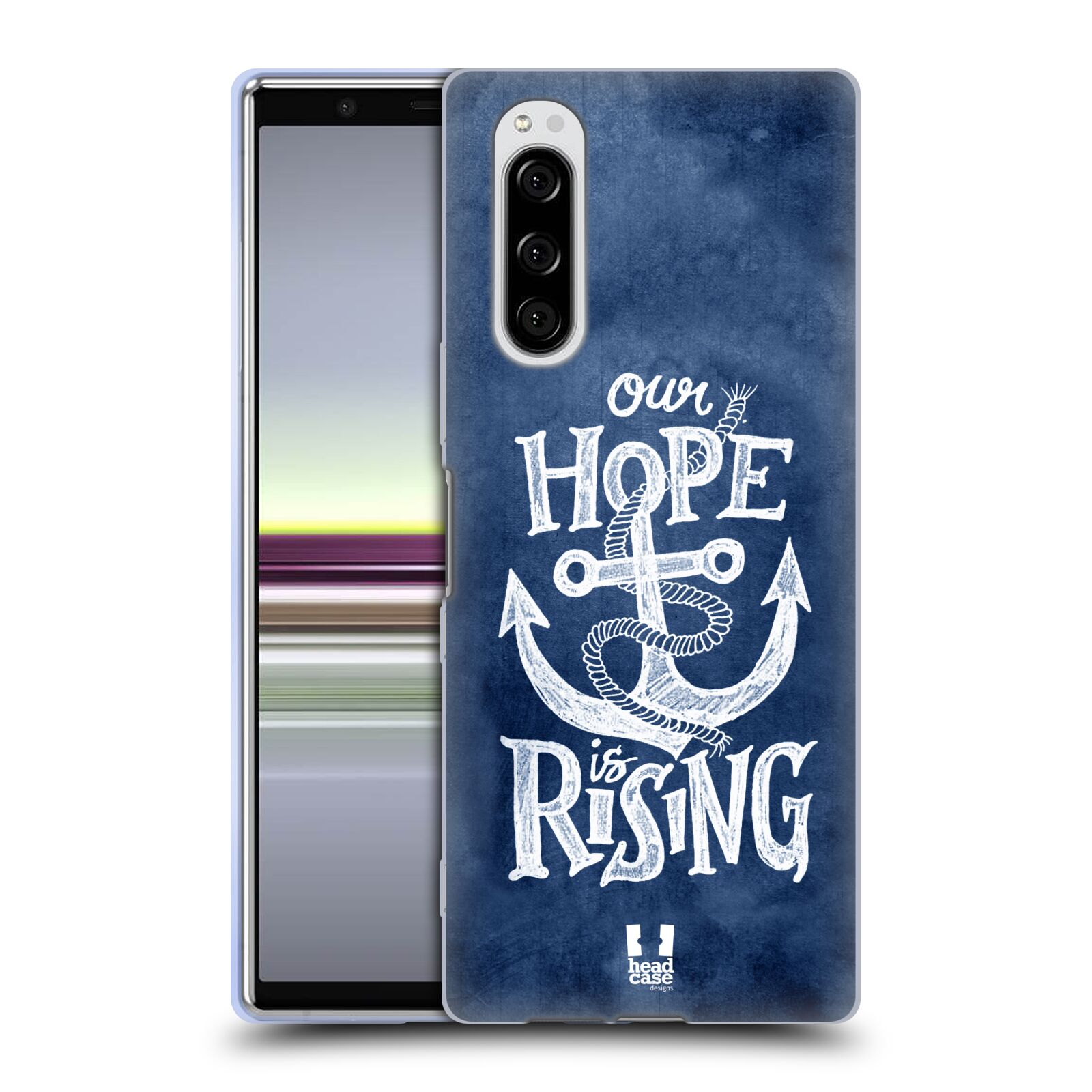 Silikonové pouzdro na mobil Sony Xperia 5 - Head Case - KOTVA RISING
