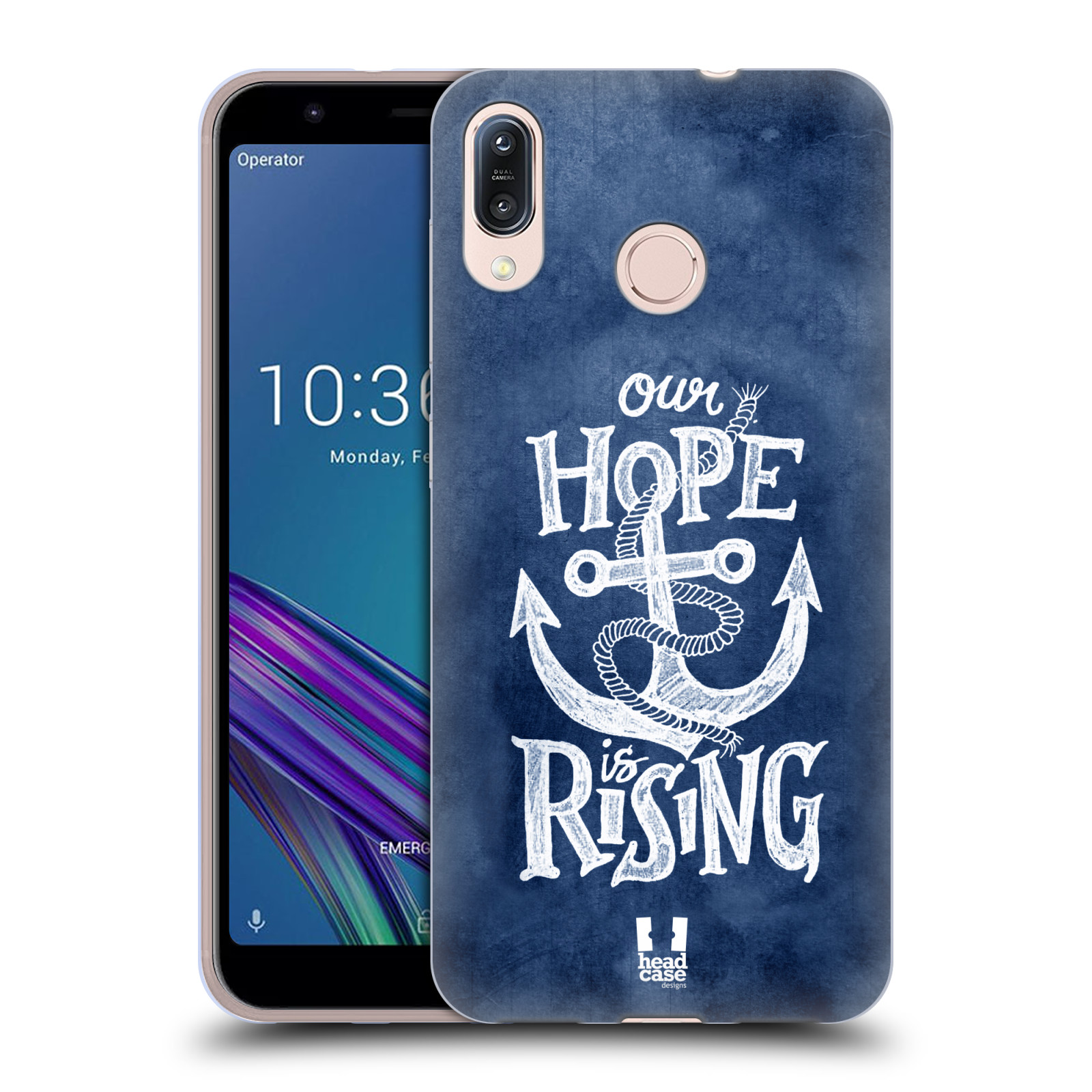 Silikonové pouzdro na mobil Asus Zenfone Max M1 ZB555KL - Head Case - KOTVA RISING