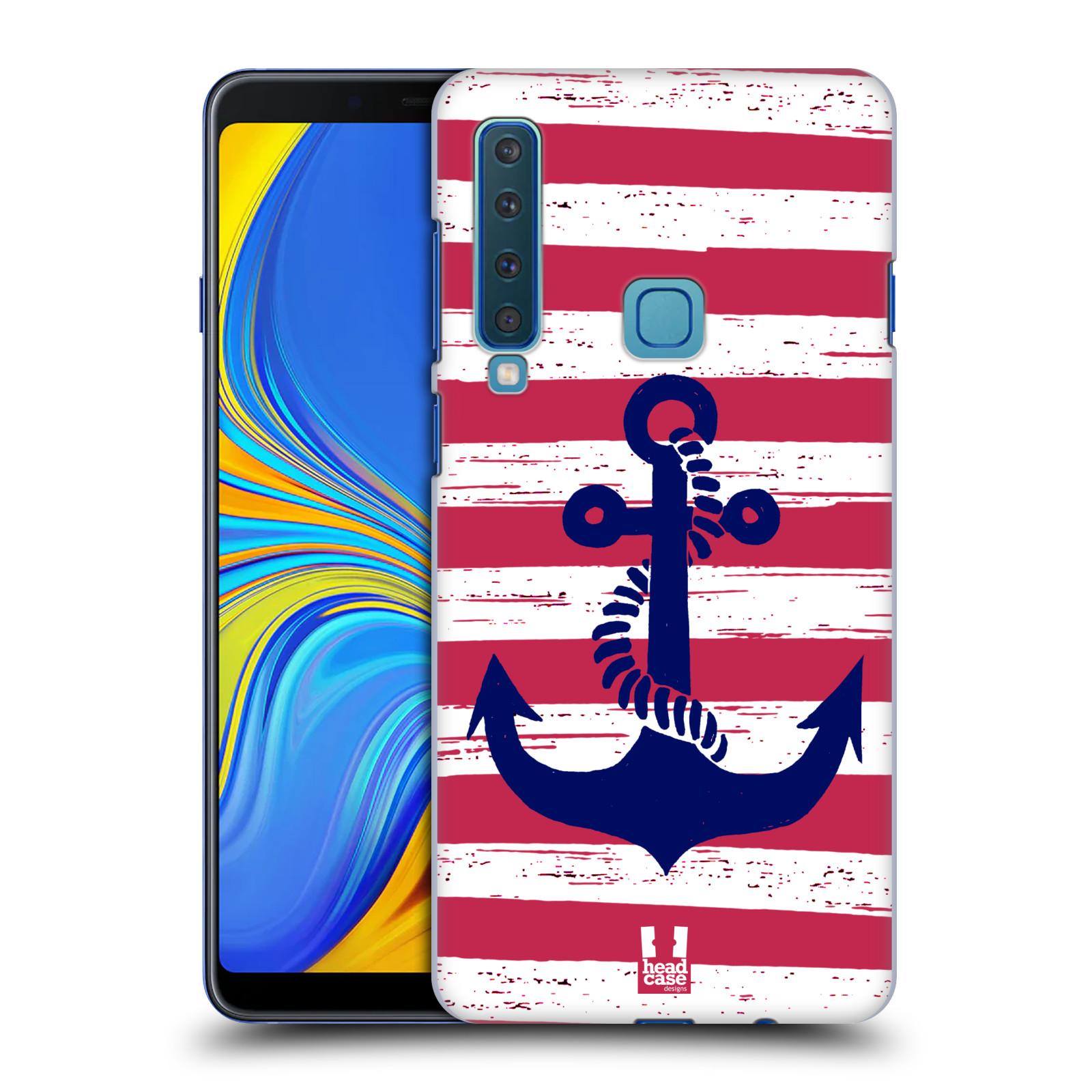Plastové pouzdro na mobil Samsung Galaxy A9 (2018) - Head Case - KOTVA S PRUHY