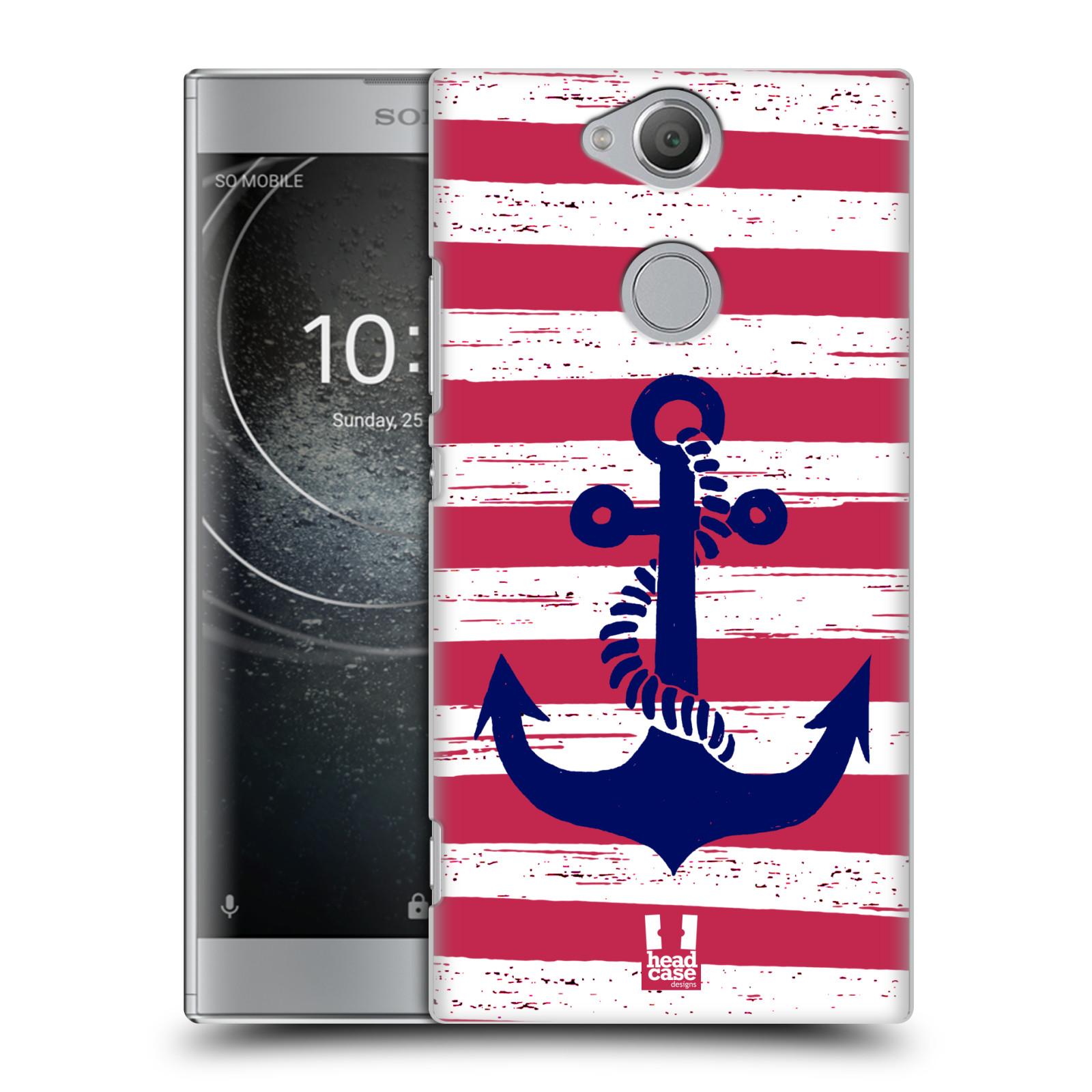 Plastové pouzdro na mobil Sony Xperia XA2 - Head Case - KOTVA S PRUHY