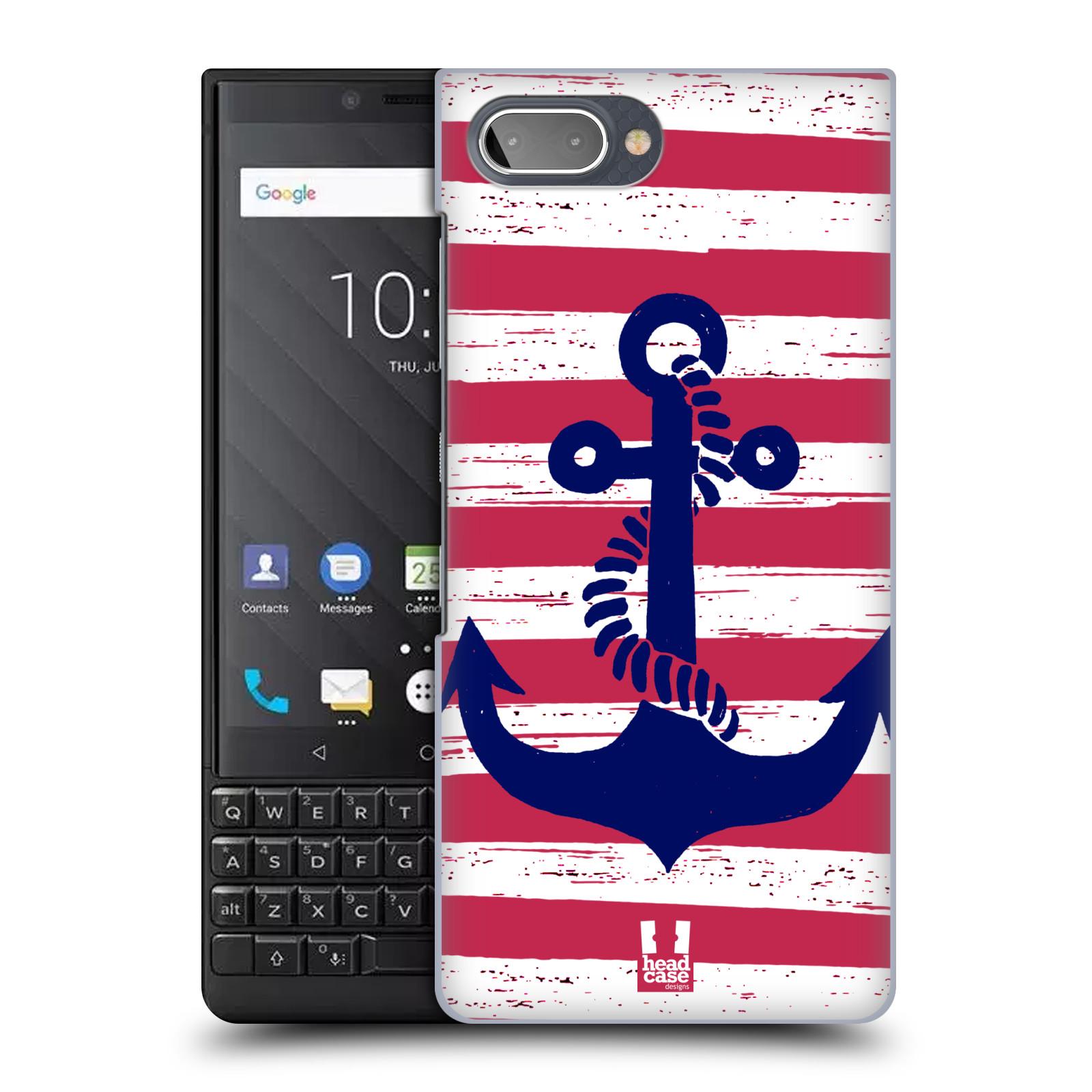 Plastové pouzdro na mobil Blackberry Key 2 - Head Case - KOTVA S PRUHY