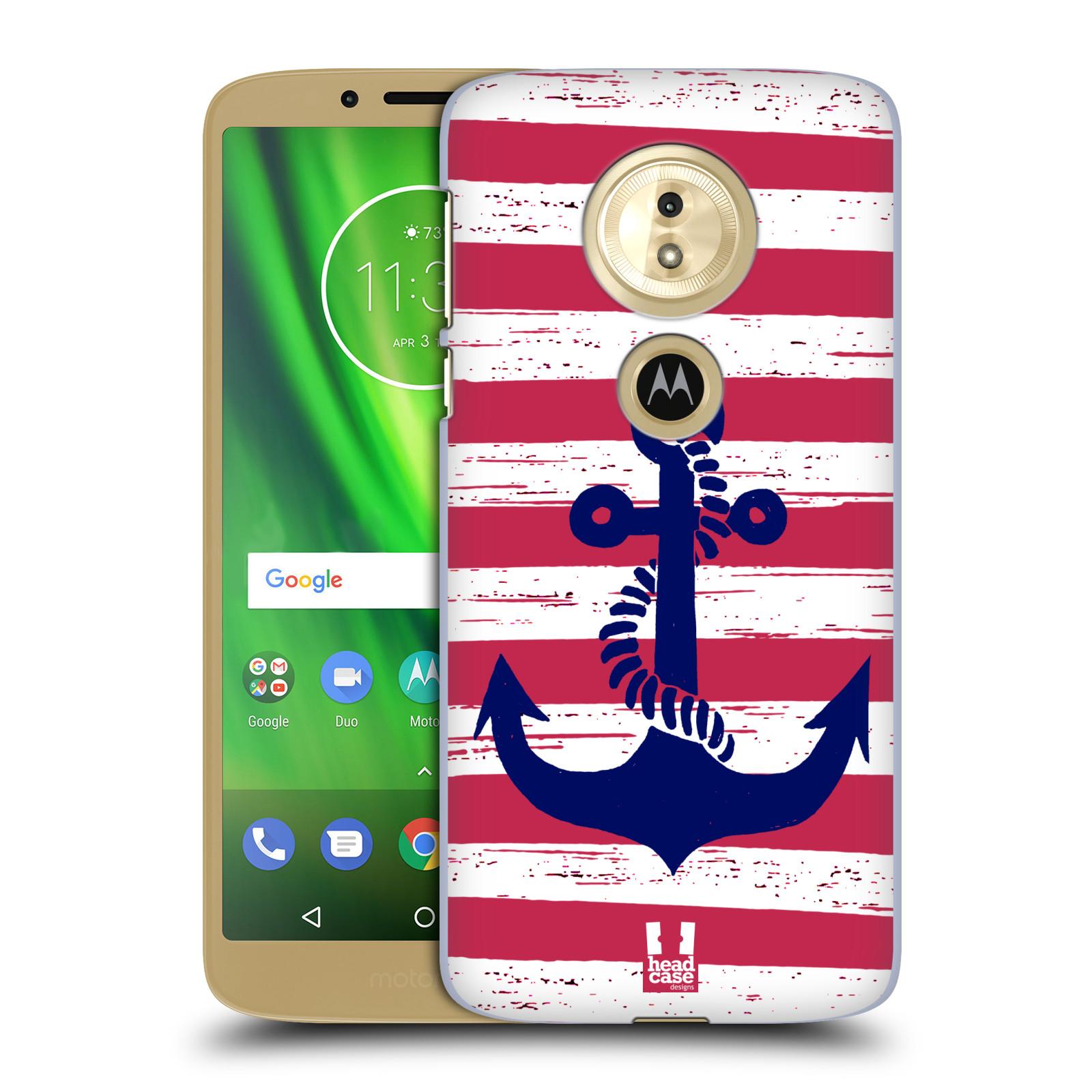 Plastové pouzdro na mobil Motorola Moto G6 Play - Head Case - KOTVA S PRUHY