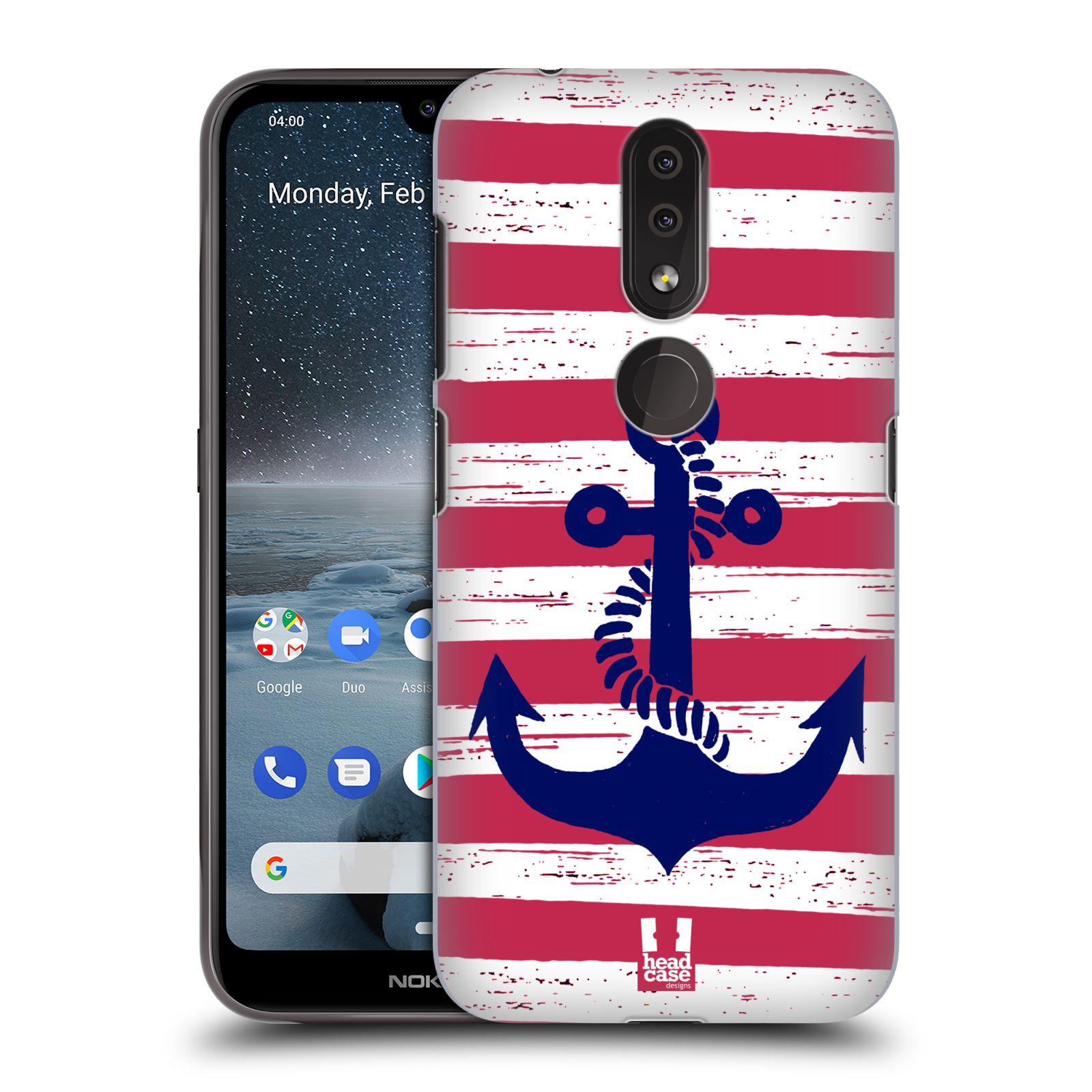Plastové pouzdro na mobil Nokia 4.2 - Head Case - KOTVA S PRUHY