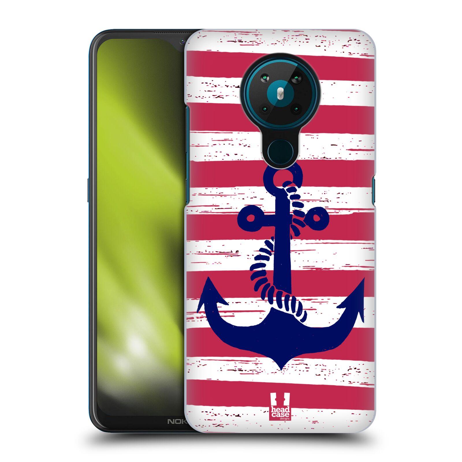 Plastové pouzdro na mobil Nokia 5.3 - Head Case - KOTVA S PRUHY