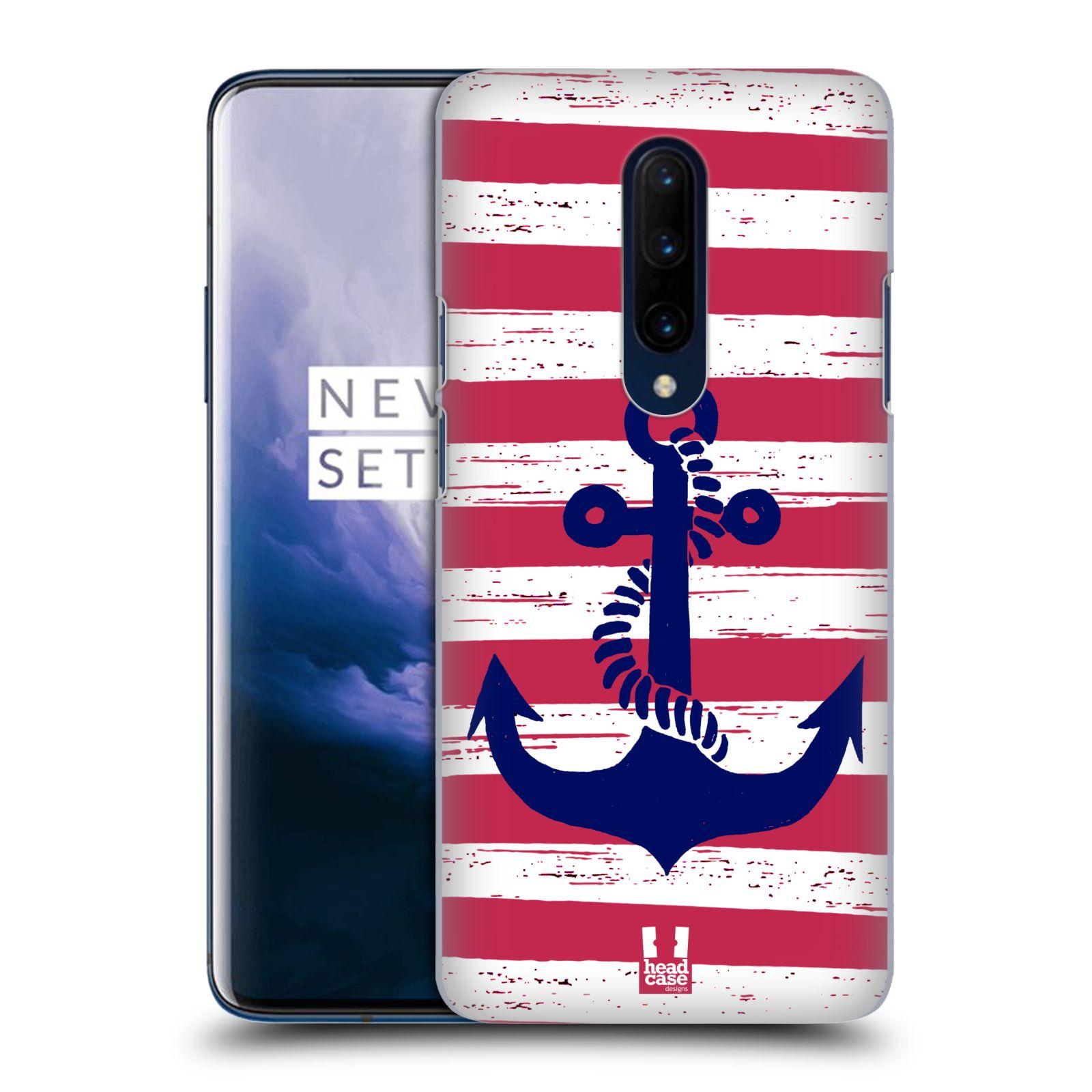 Plastové pouzdro na mobil OnePlus 7 Pro - Head Case - KOTVA S PRUHY