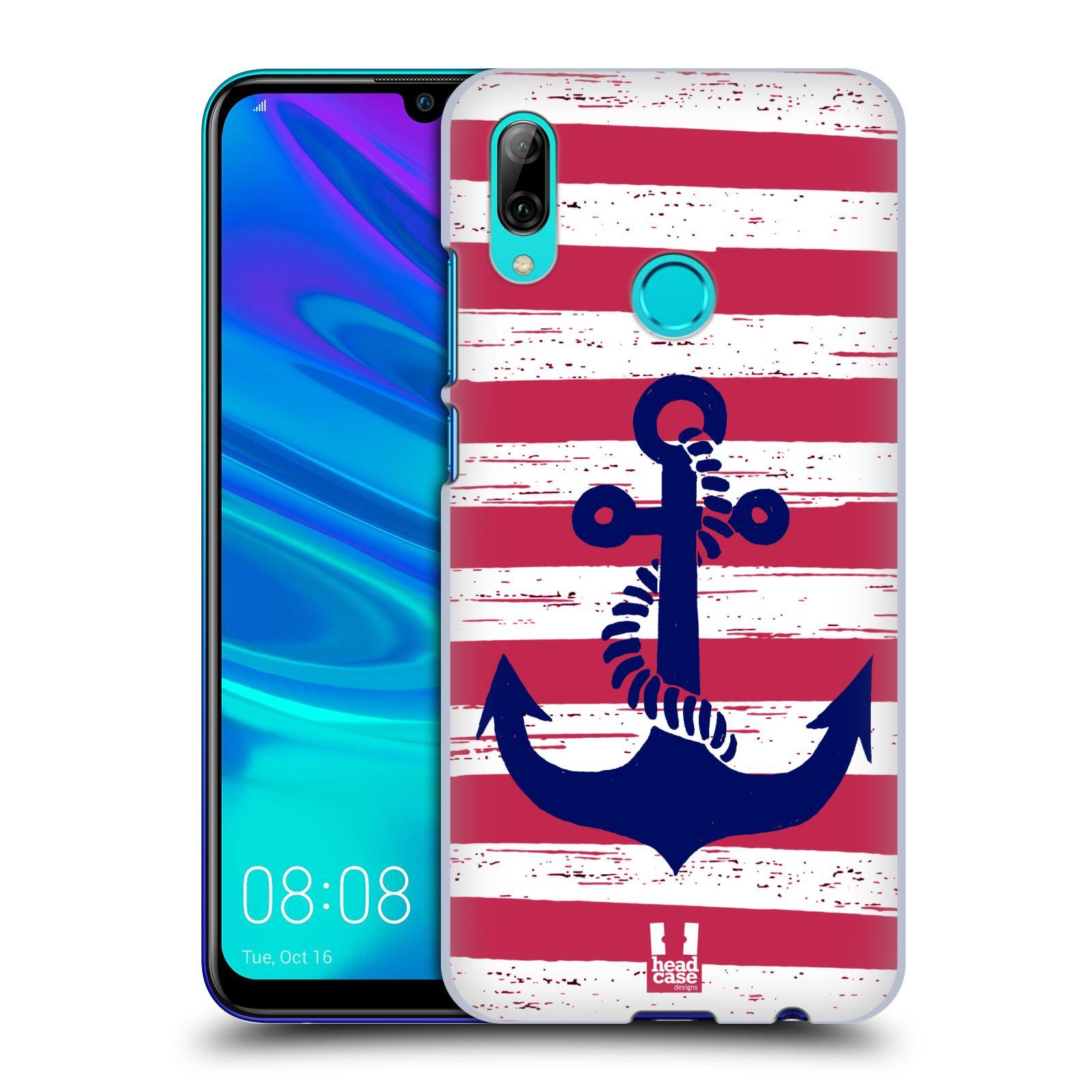 Plastové pouzdro na mobil Huawei P Smart (2019) - Head Case - KOTVA S PRUHY