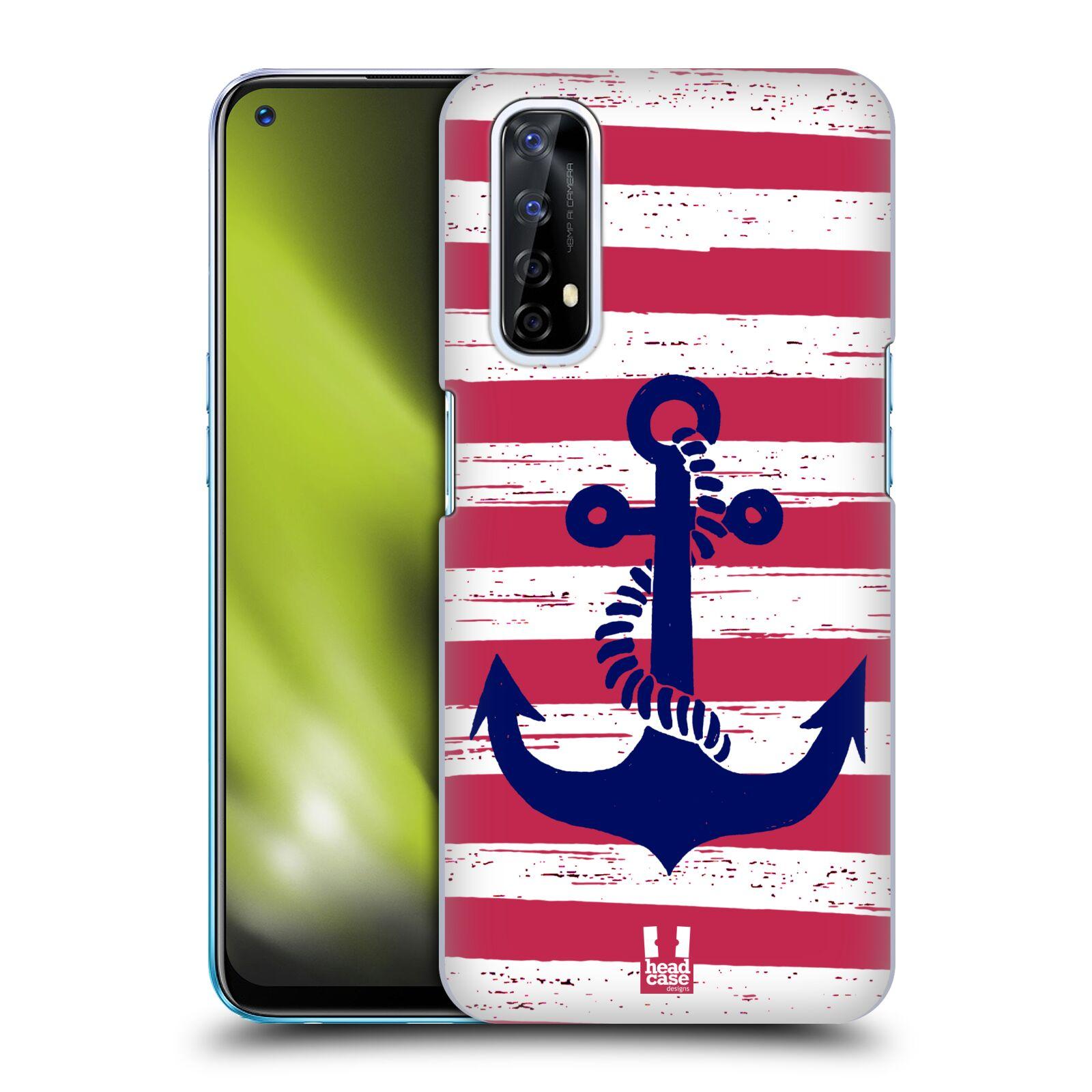 Plastové pouzdro na mobil Realme 7 - Head Case - KOTVA S PRUHY