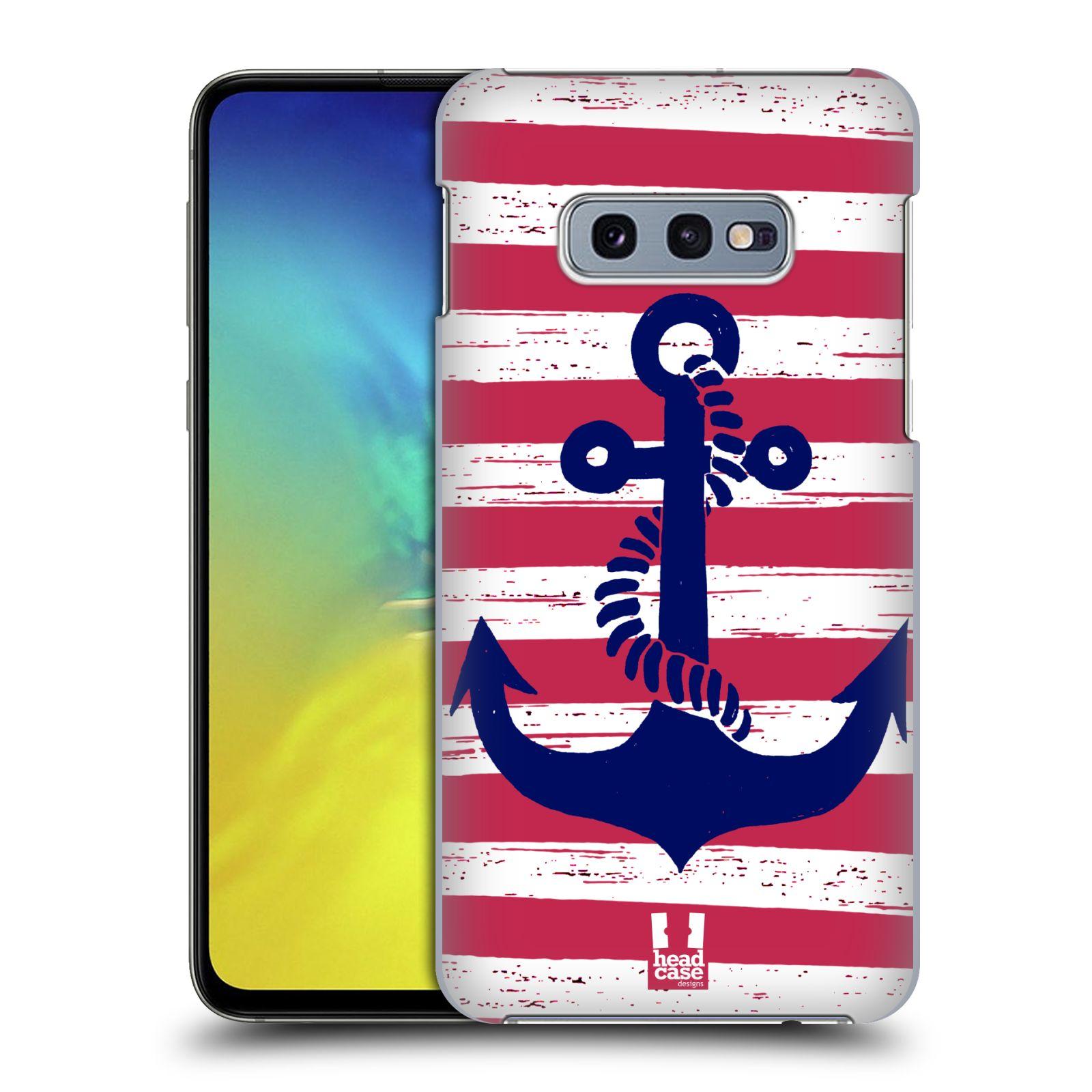 Plastové pouzdro na mobil Samsung Galaxy S10e - Head Case - KOTVA S PRUHY