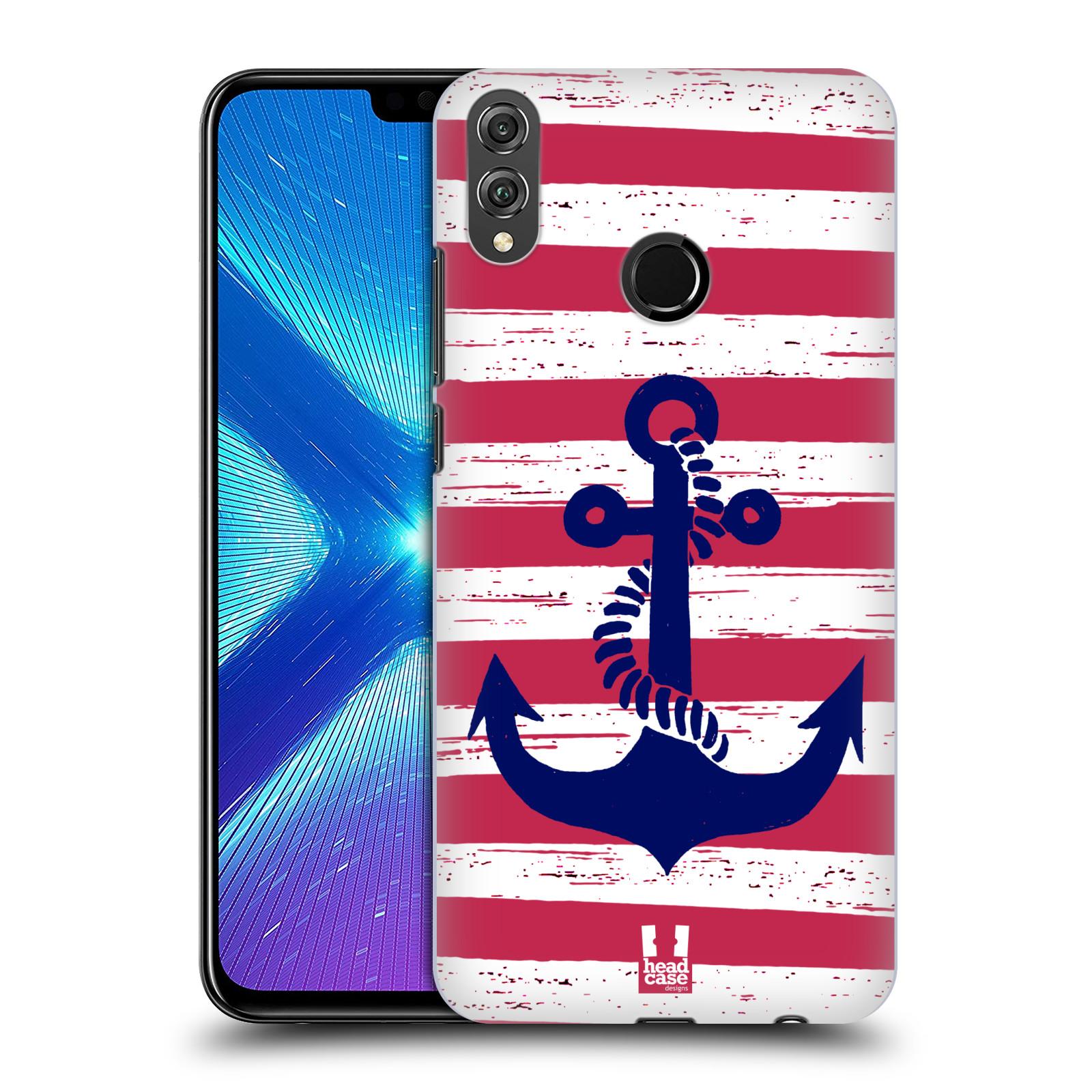 Plastové pouzdro na mobil Honor 8X - Head Case - KOTVA S PRUHY