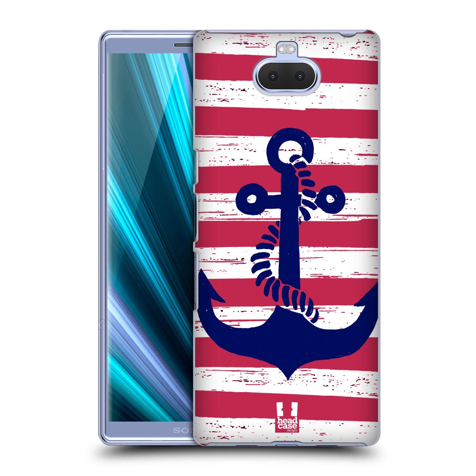 Plastové pouzdro na mobil Sony Xperia 10 - Head Case - KOTVA S PRUHY