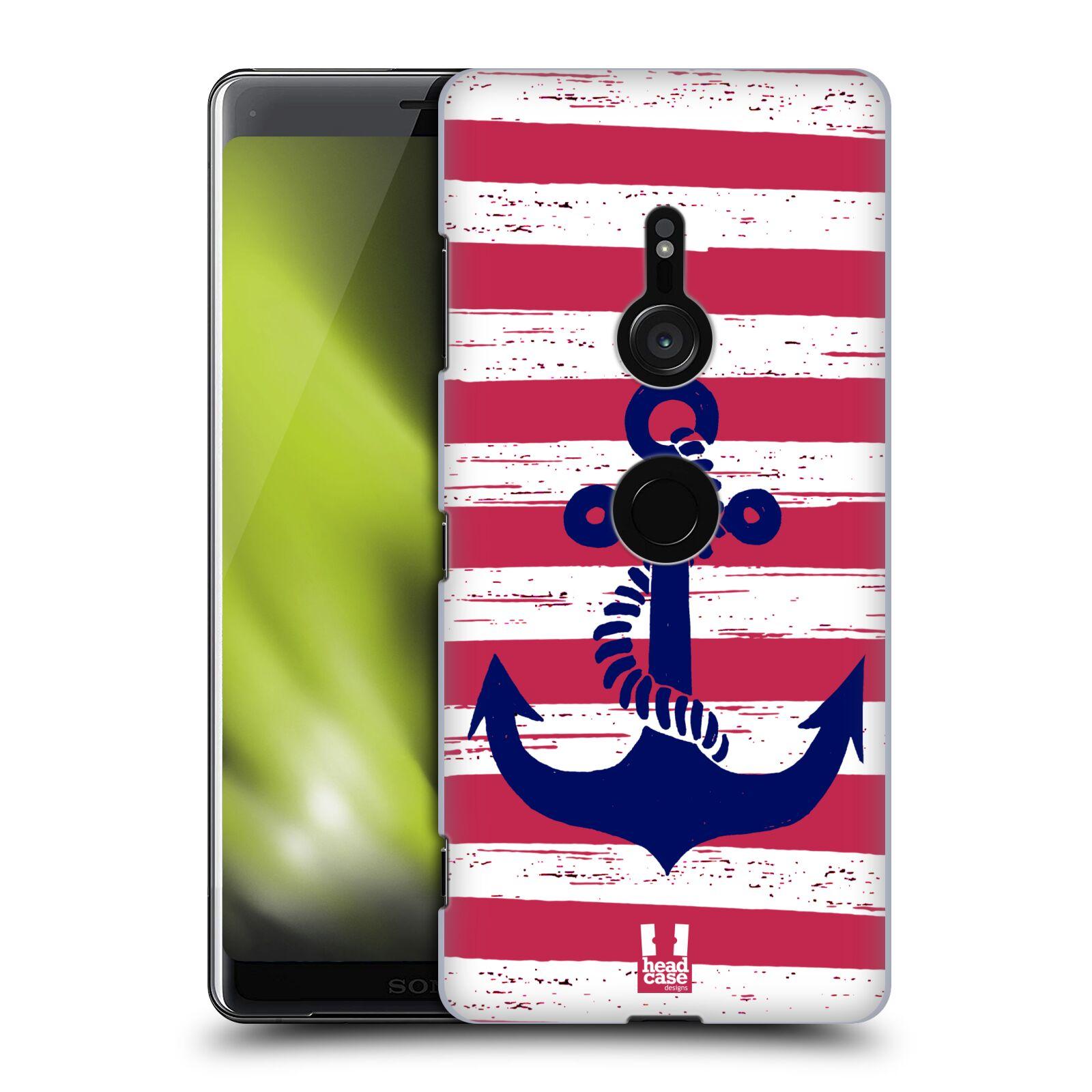 Plastové pouzdro na mobil Sony Xperia XZ3 - Head Case - KOTVA S PRUHY