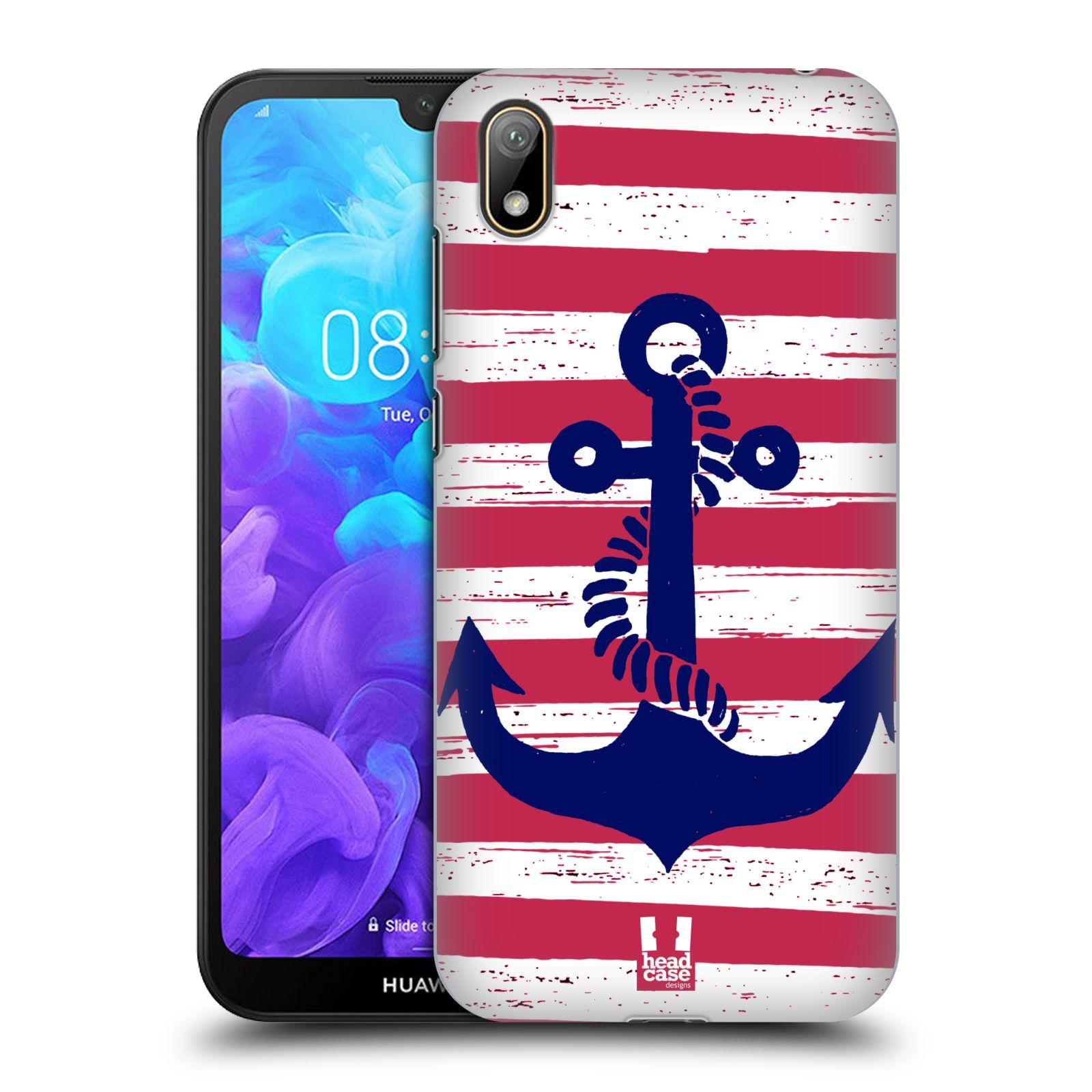 Plastové pouzdro na mobil Honor 8S - Head Case - KOTVA S PRUHY