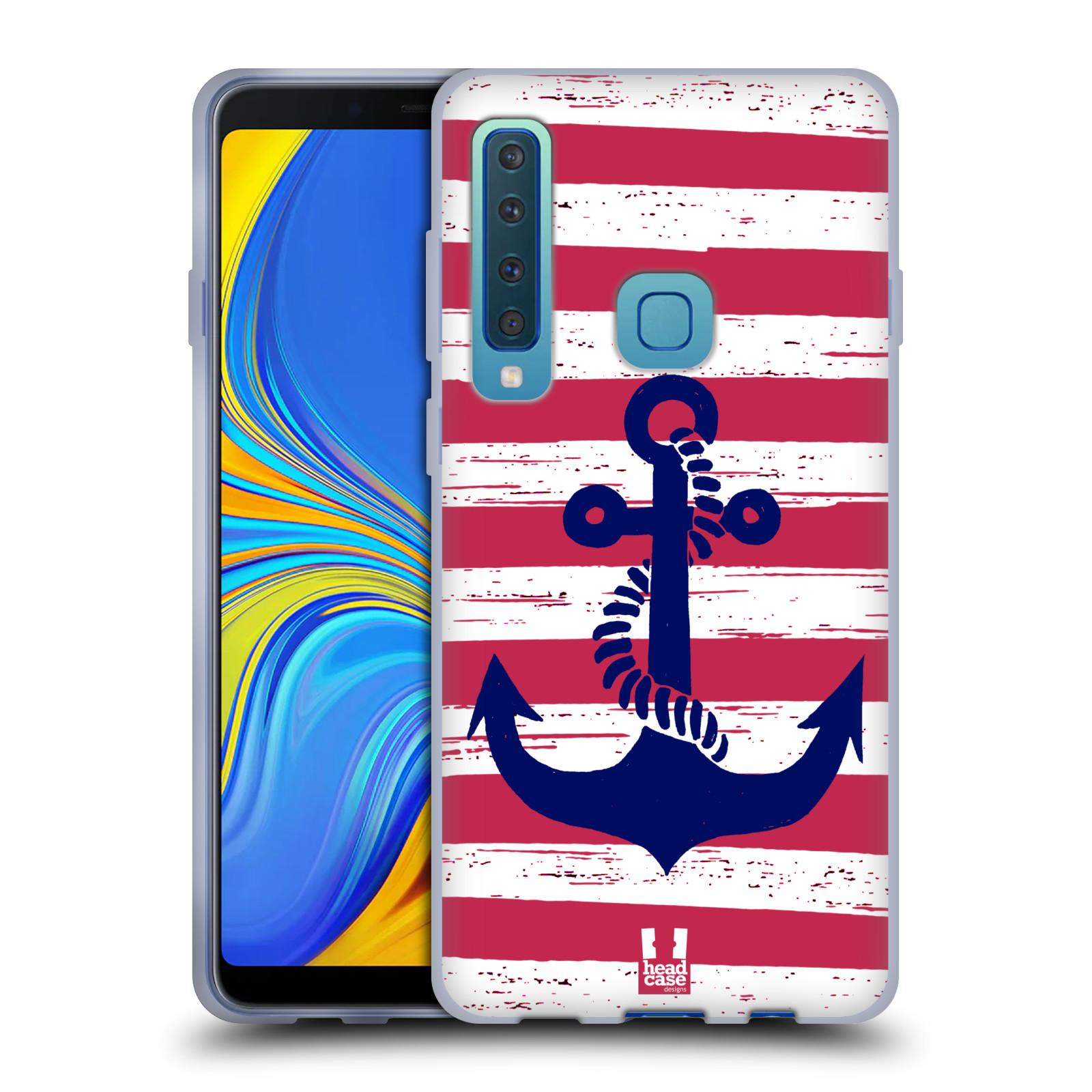 Silikonové pouzdro na mobil Samsung Galaxy A9 (2018) - Head Case - KOTVA S PRUHY