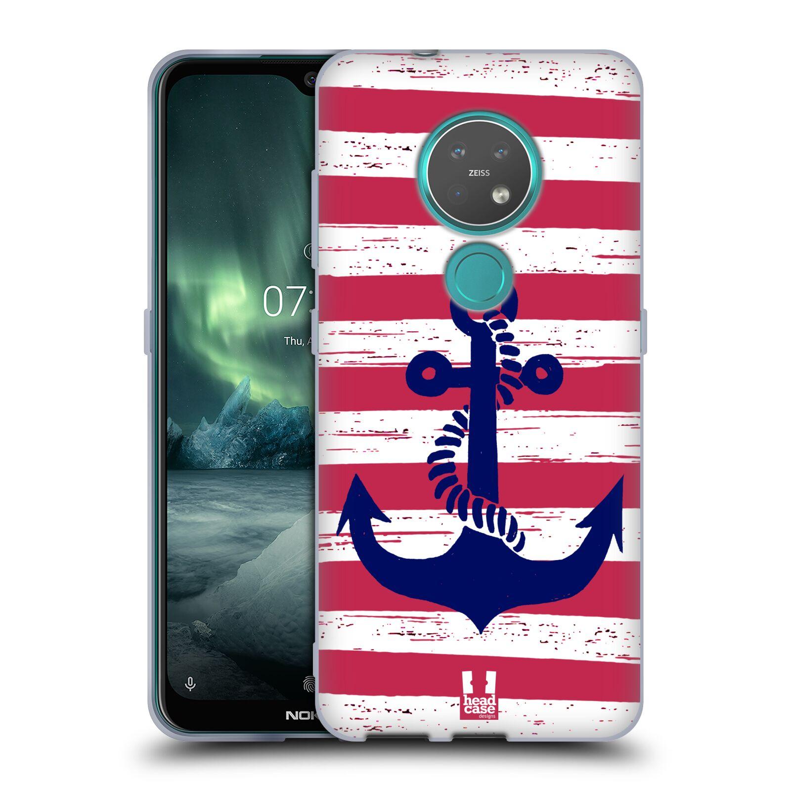 Silikonové pouzdro na mobil Nokia 7.2 - Head Case - KOTVA S PRUHY