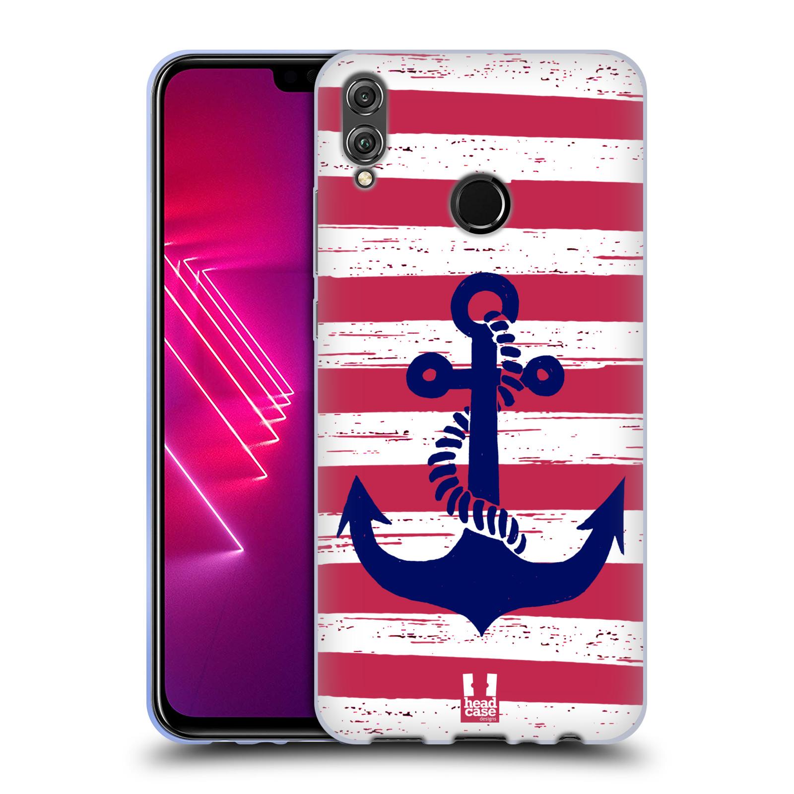 Silikonové pouzdro na mobil Honor View 10 Lite - Head Case - KOTVA S PRUHY