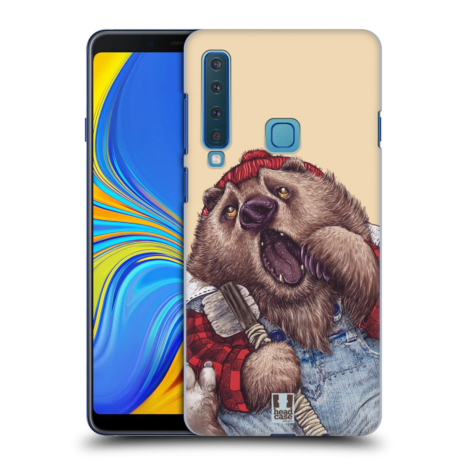 Plastové pouzdro na mobil Samsung Galaxy A9 (2018) - Head Case - ANIMPLA MEDVĚD