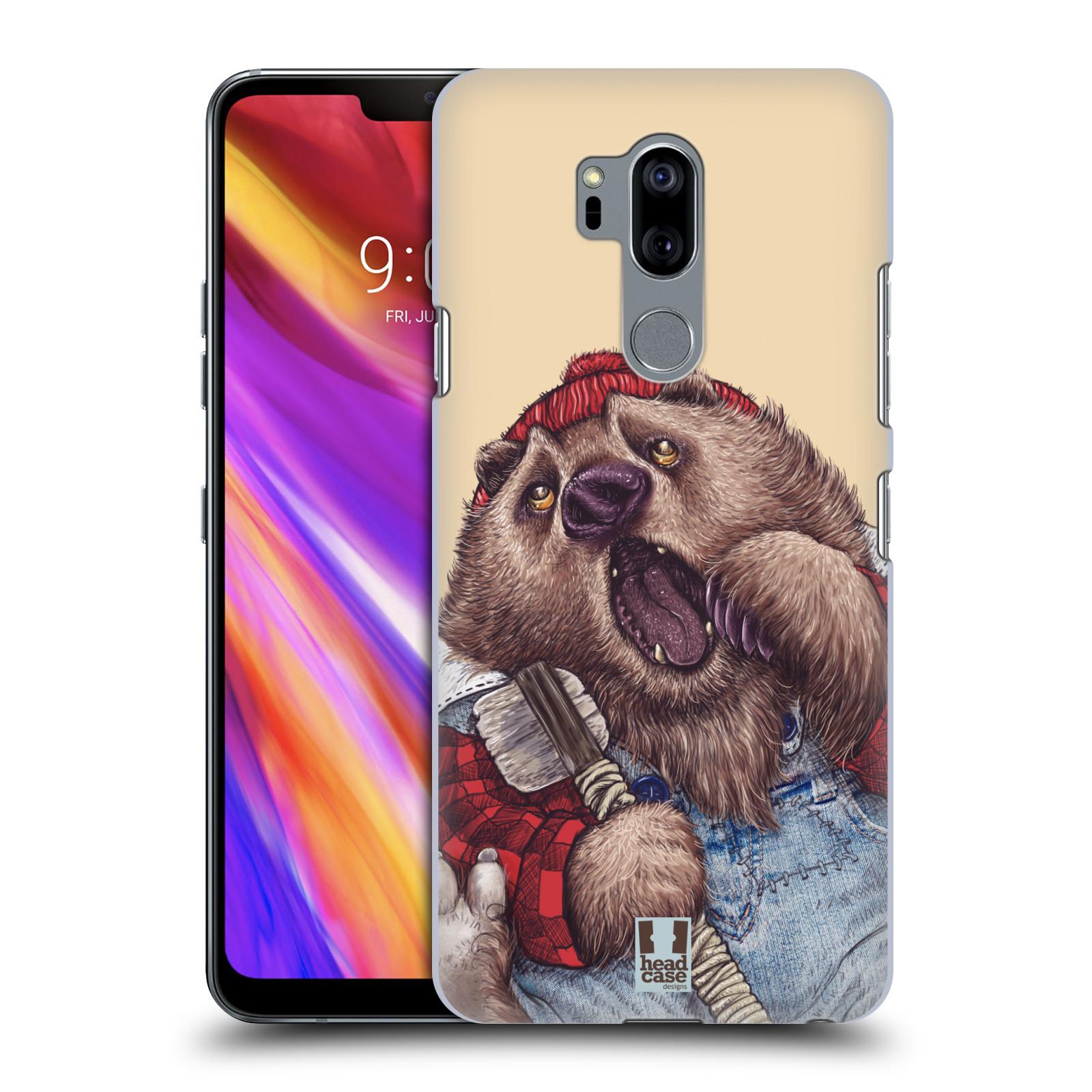 Plastové pouzdro na mobil LG G7 ThinQ - Head Case - ANIMPLA MEDVĚD