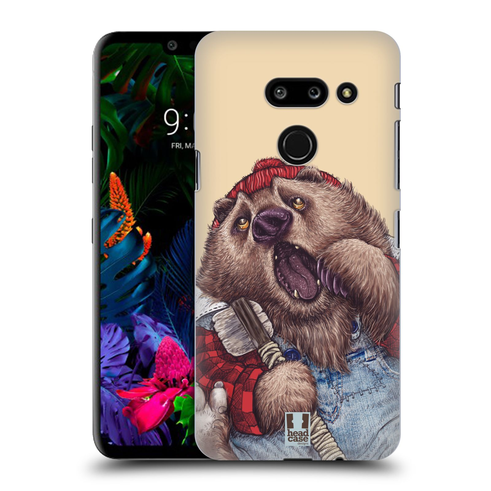 Plastové pouzdro na mobil LG G8 ThinQ - Head Case - ANIMPLA MEDVĚD