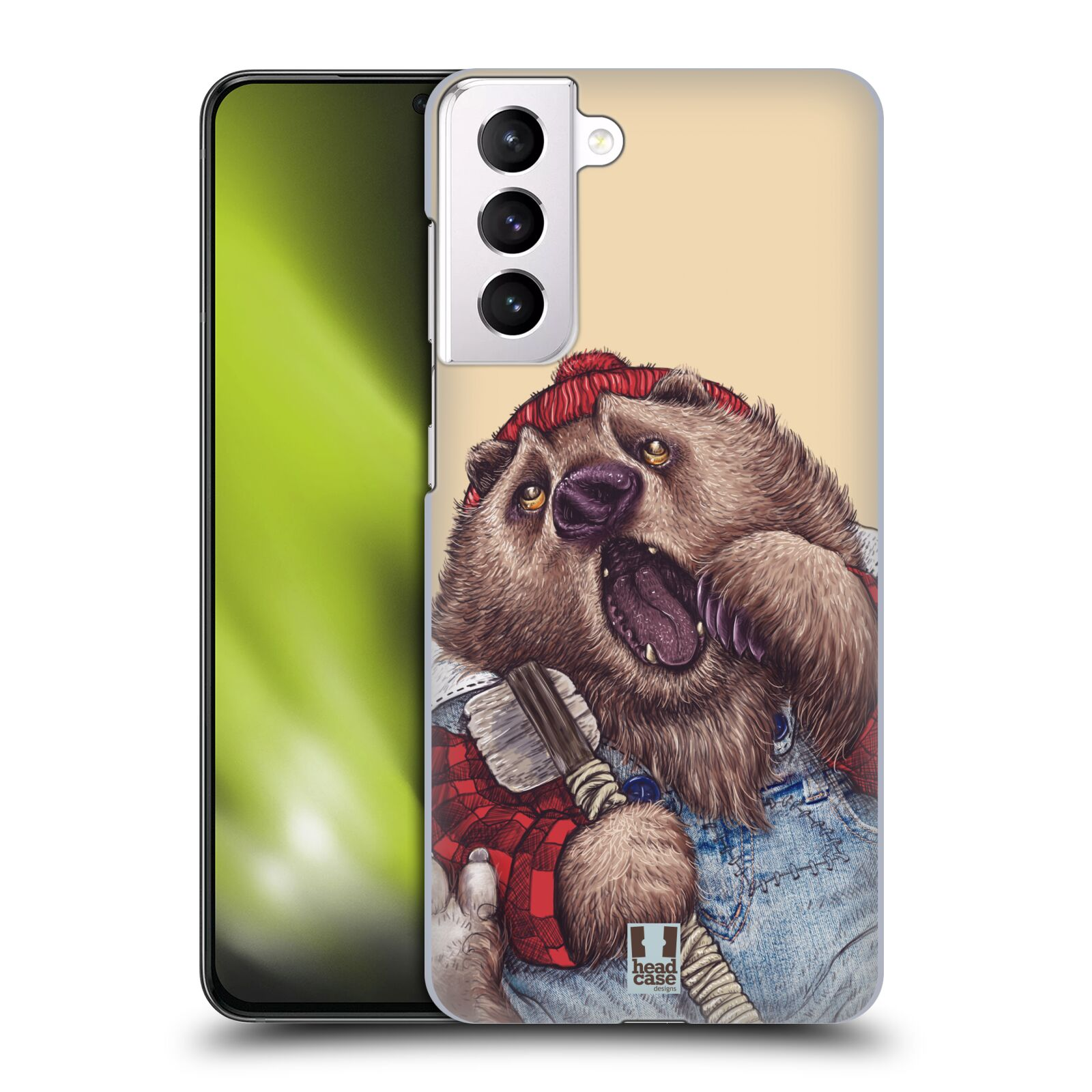 Plastové pouzdro na mobil Samsung Galaxy S21 Plus 5G - Head Case - ANIMPLA MEDVĚD