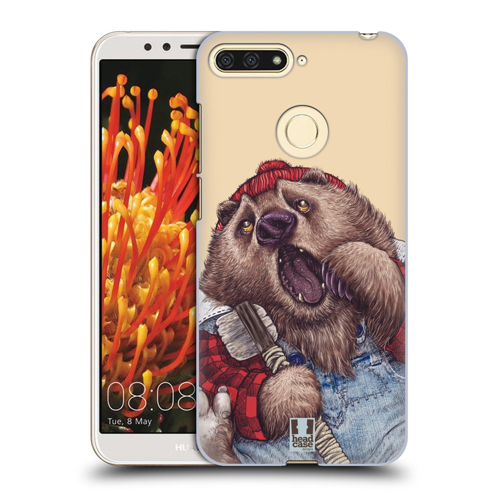 Plastové pouzdro na mobil Huawei Y6 Prime 2018 - Head Case - ANIMPLA MEDVĚD