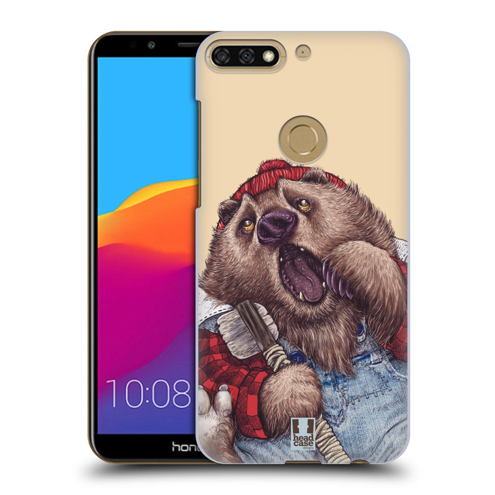 Plastové pouzdro na mobil Huawei Y7 Prime 2018 - Head Case - ANIMPLA MEDVĚD