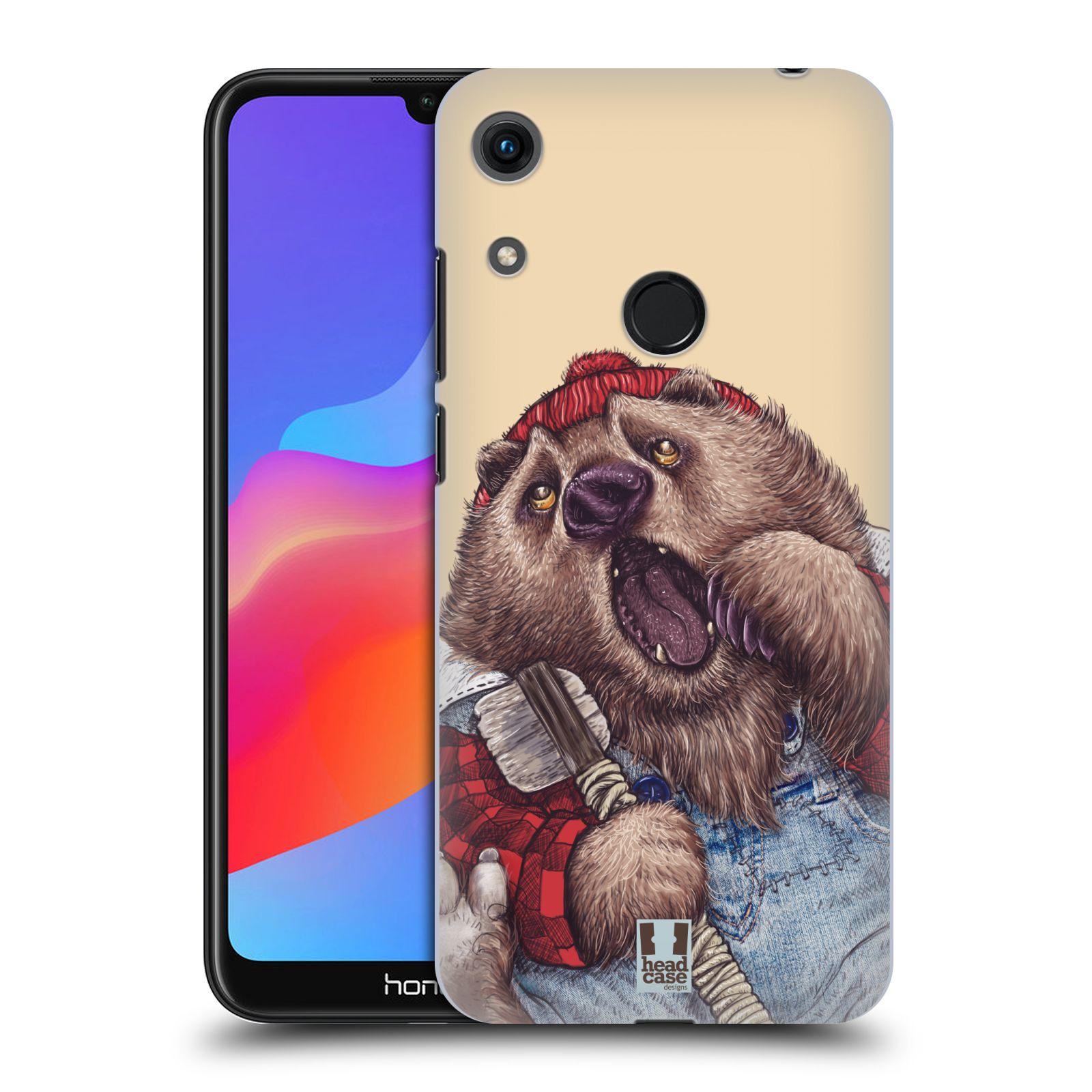 Plastové pouzdro na mobil Honor 8A - Head Case - ANIMPLA MEDVĚD